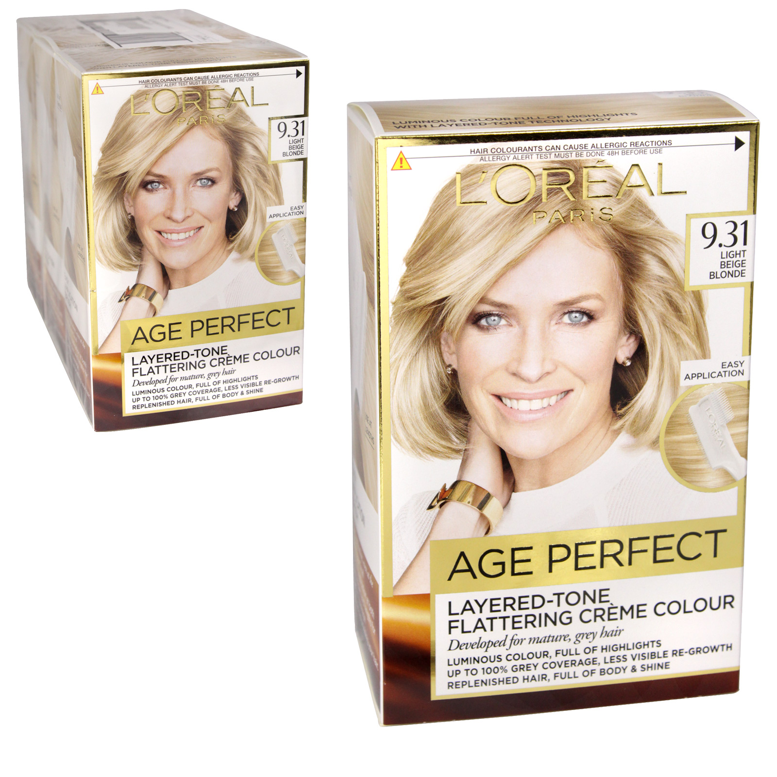 AGE PERFECT LIGHT BEIGE BLONDE 9.31 X3