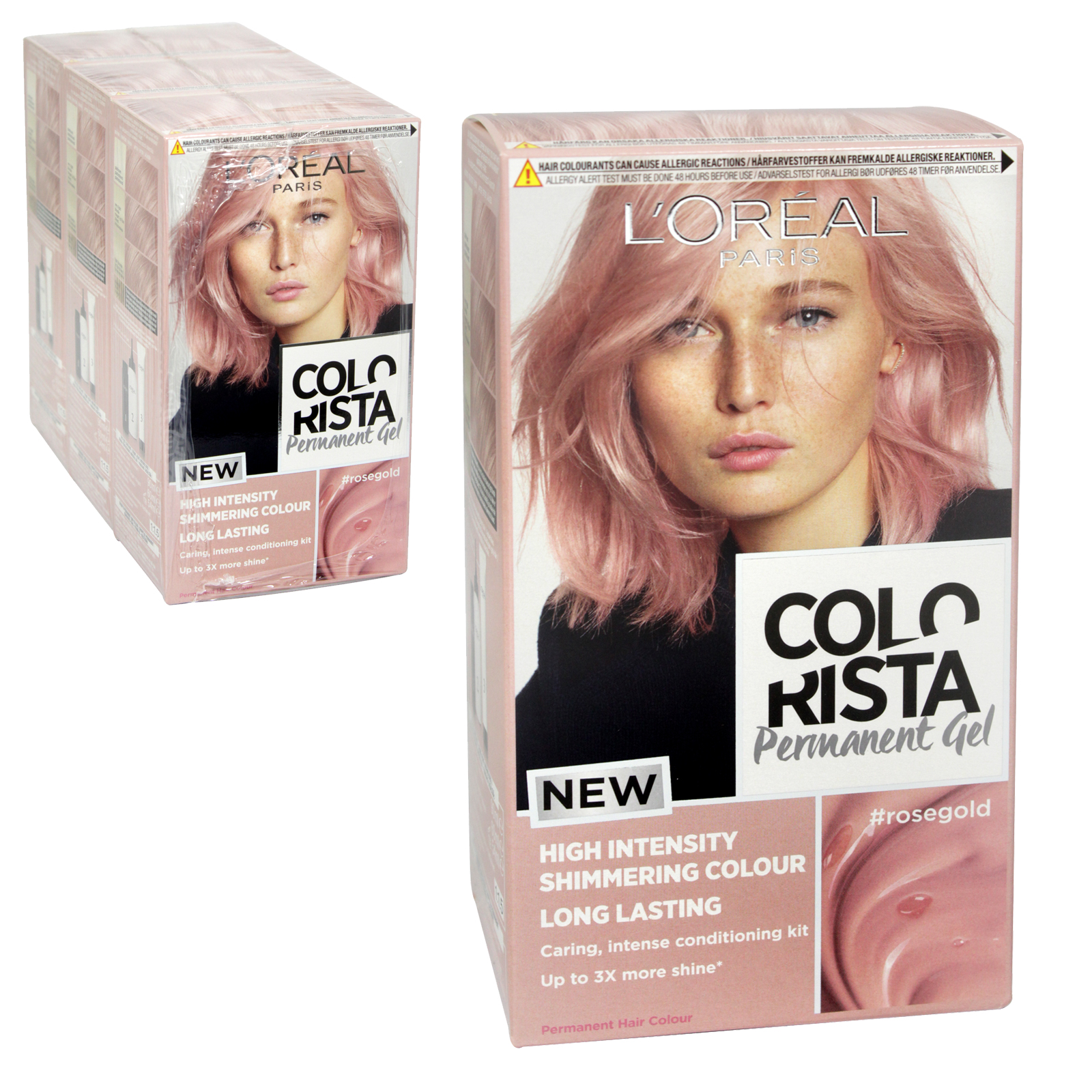 COLORISTA PERM GEL ROSE GOLD 9.21 X3