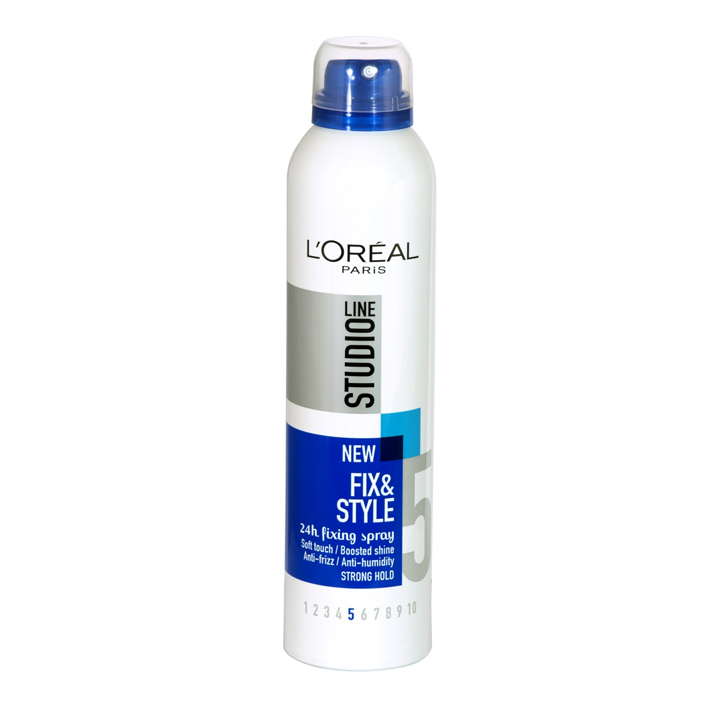 L'OREAL STUDIO WR FIX & STYLE SPRAY 250ML STRONG HOLD X6