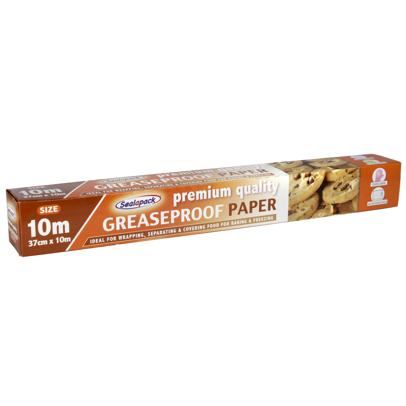 SEALAPACK GREASEPROOF PAPER 37CMX10M