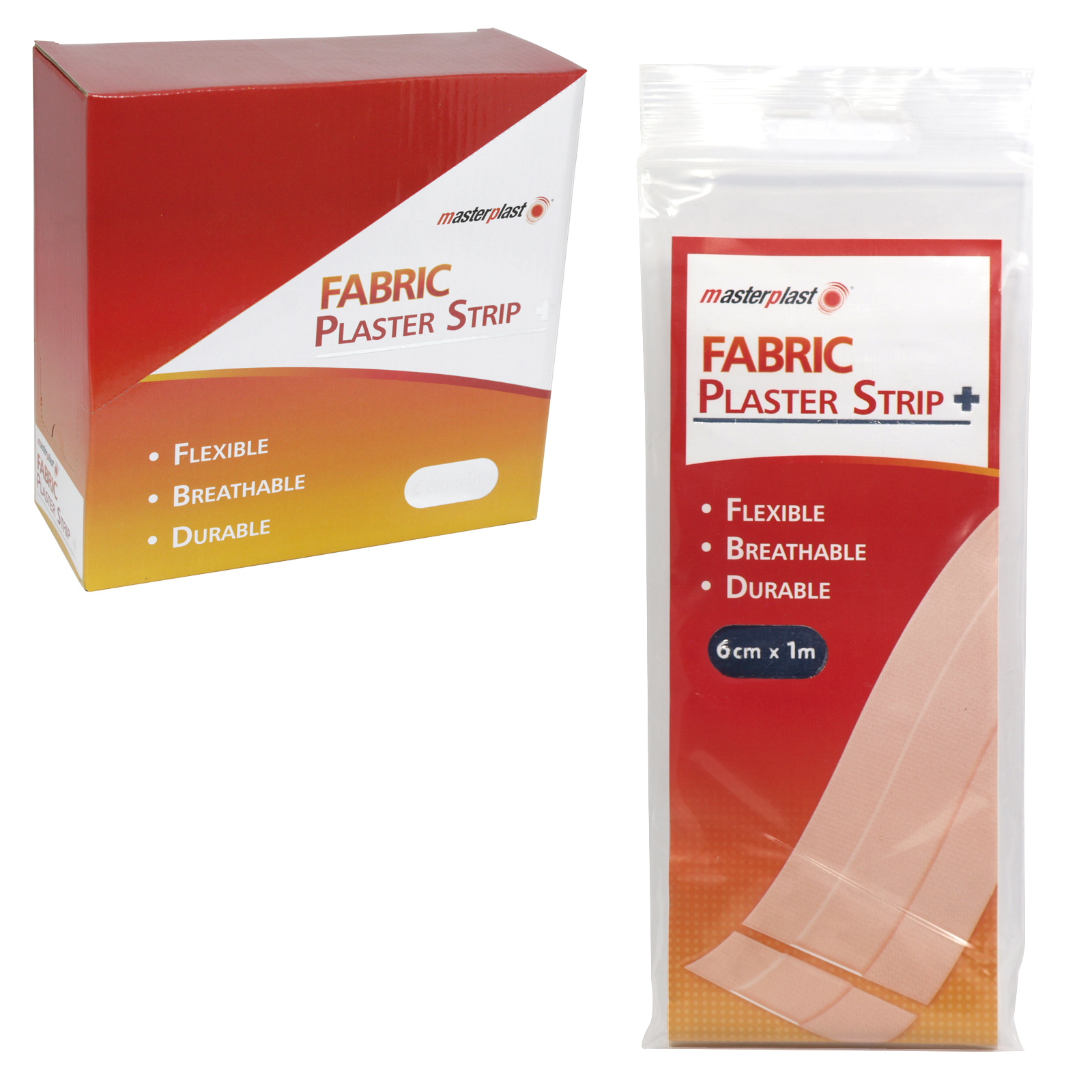 MASTERPLAST FABRIC STRIP 6CMX1M X25