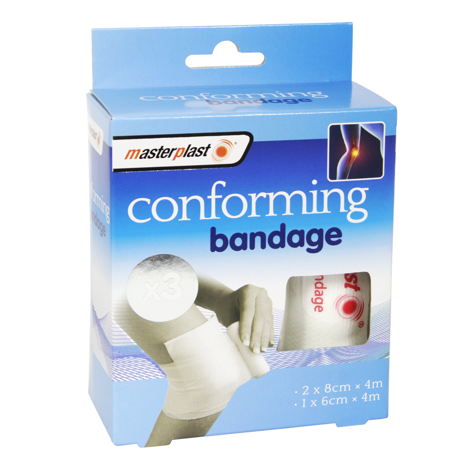 MASTERPLAST 5PK CONFORM BANDAGES