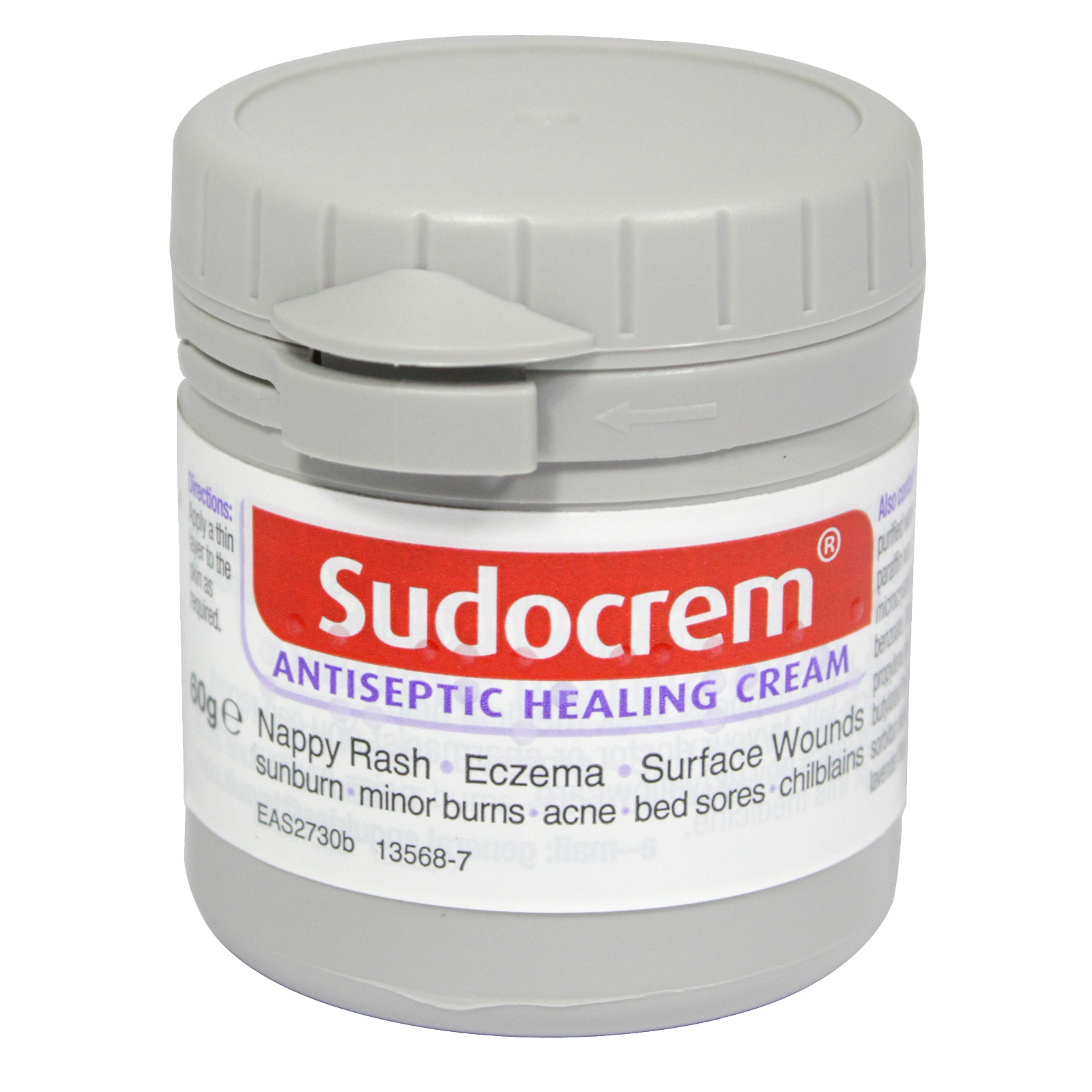 SUDOCREM 60G ANTISEPTIC TUB (NON RETURNABLE)