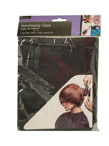 SIL DELUXE HAIRDRESSING CAPE 3ASSORTED X12