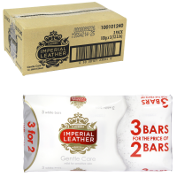 IMPERIAL LEATHER SOAP 3X100GM GENTLE CARE PM £1 X12