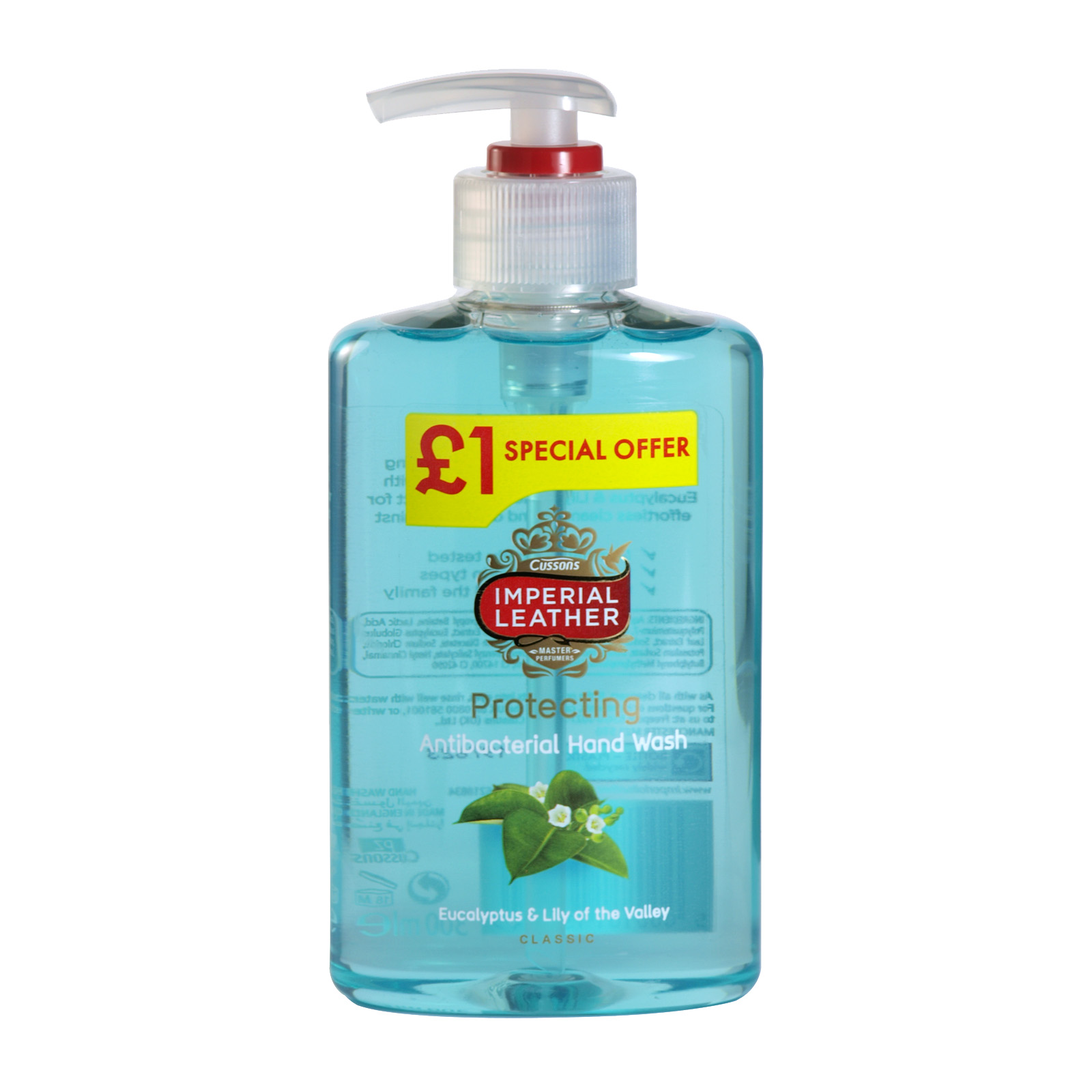 Imperial Leather Handwash 300ml Protecting Pm 1 X6 Concord Cash And Body Soap