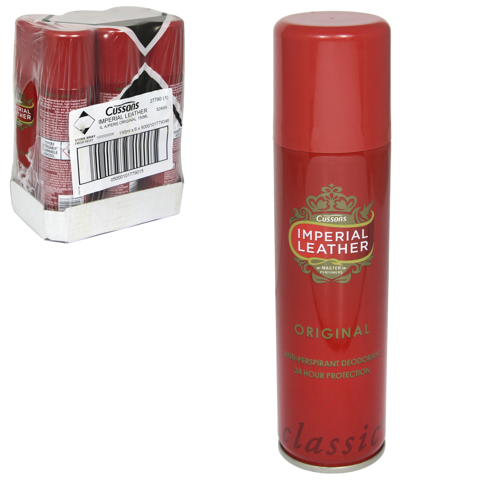 IMPERIAL LEATHER DRY 150ML APA ORIGINAL X6