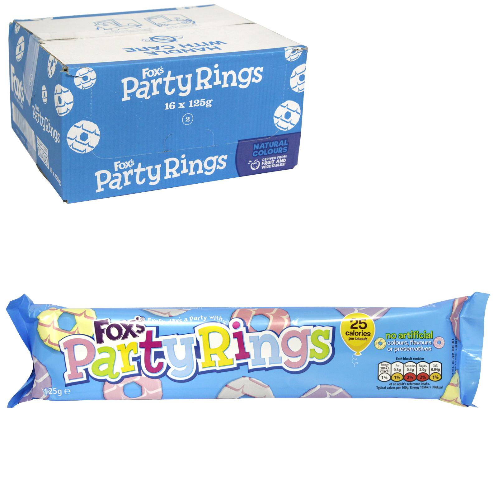 FOX'S PARTY RING BISCUIT X16