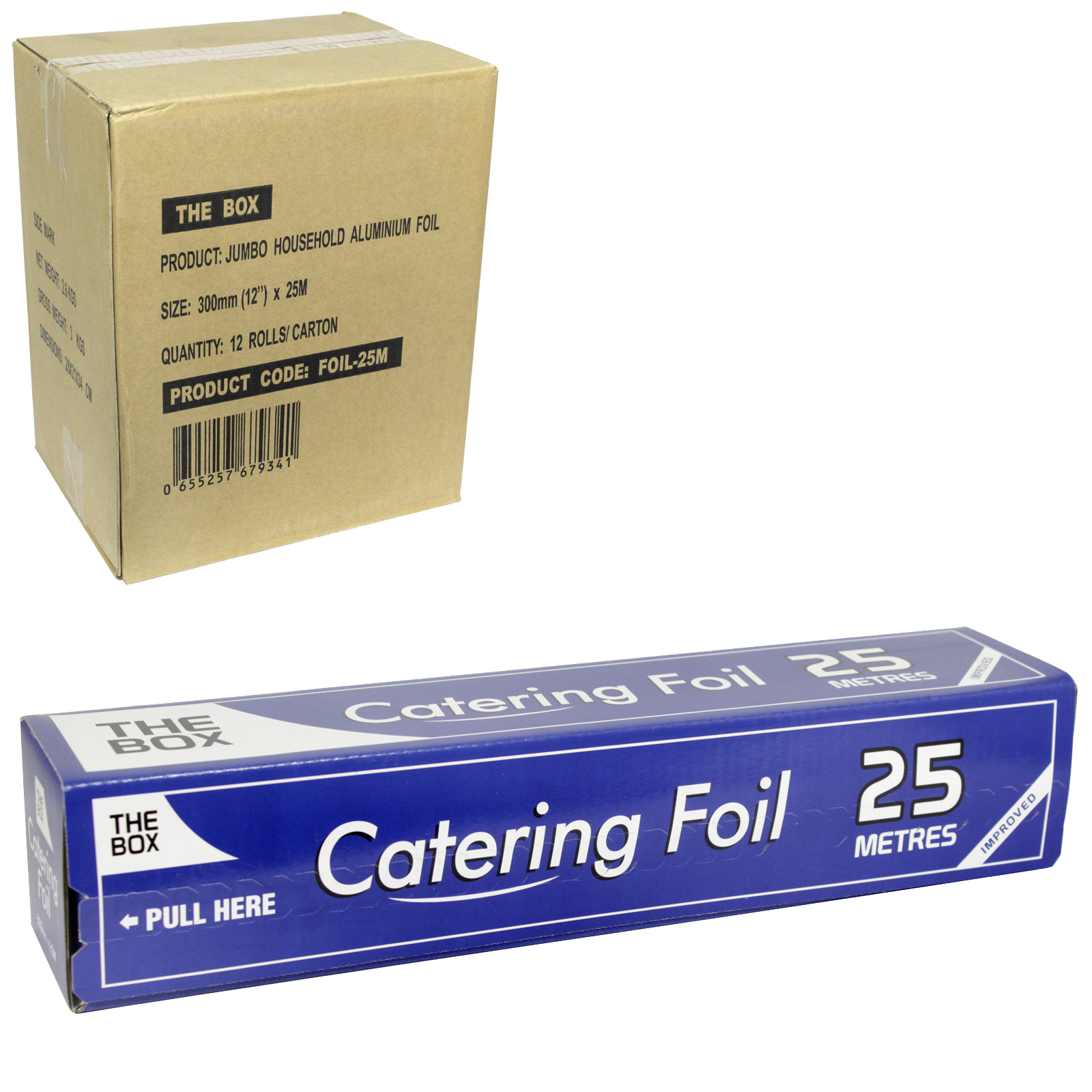 THE BOX CATERING FOIL 300MMX25M X12