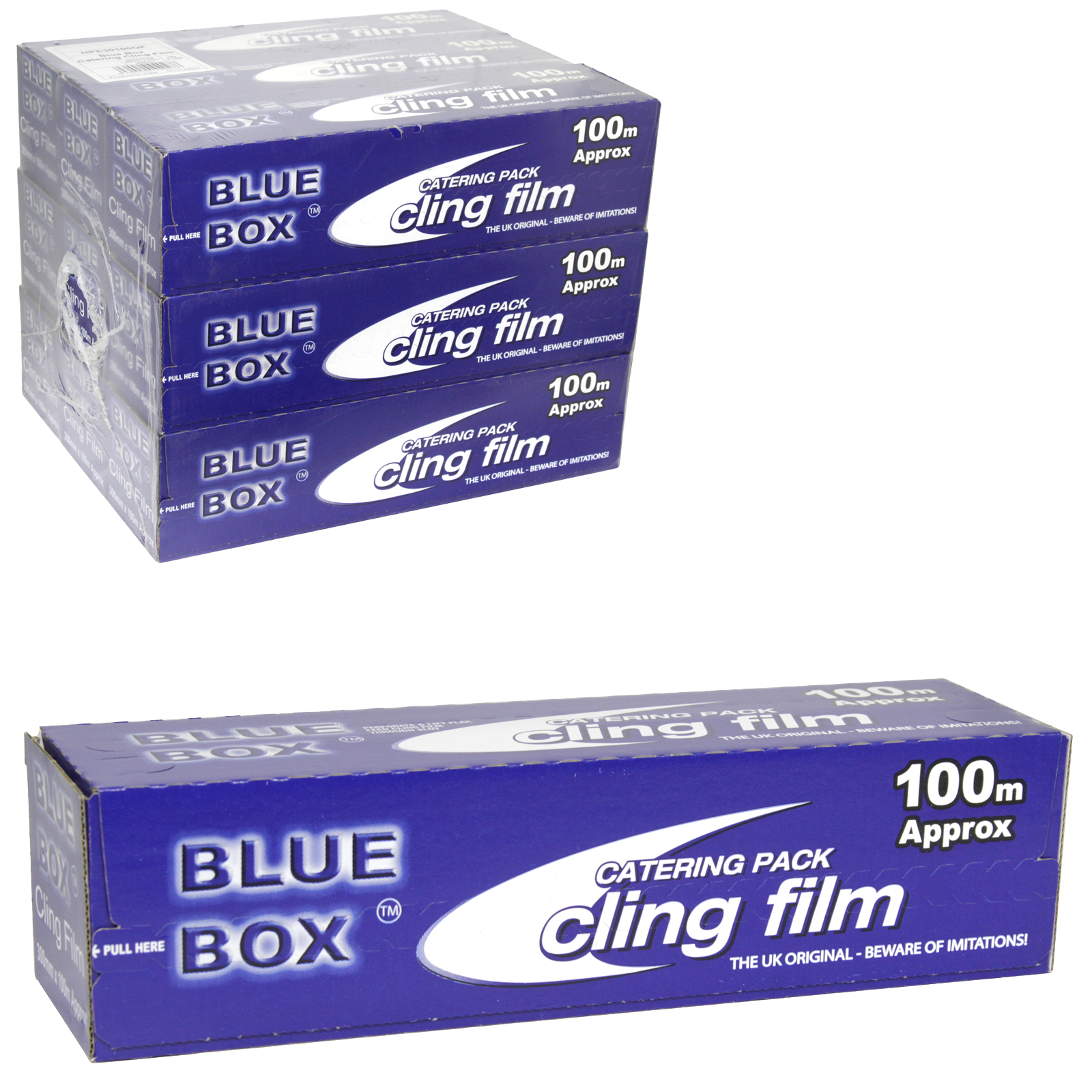 CATERING CLING FILM 300MMX100M - THE BOX  X9