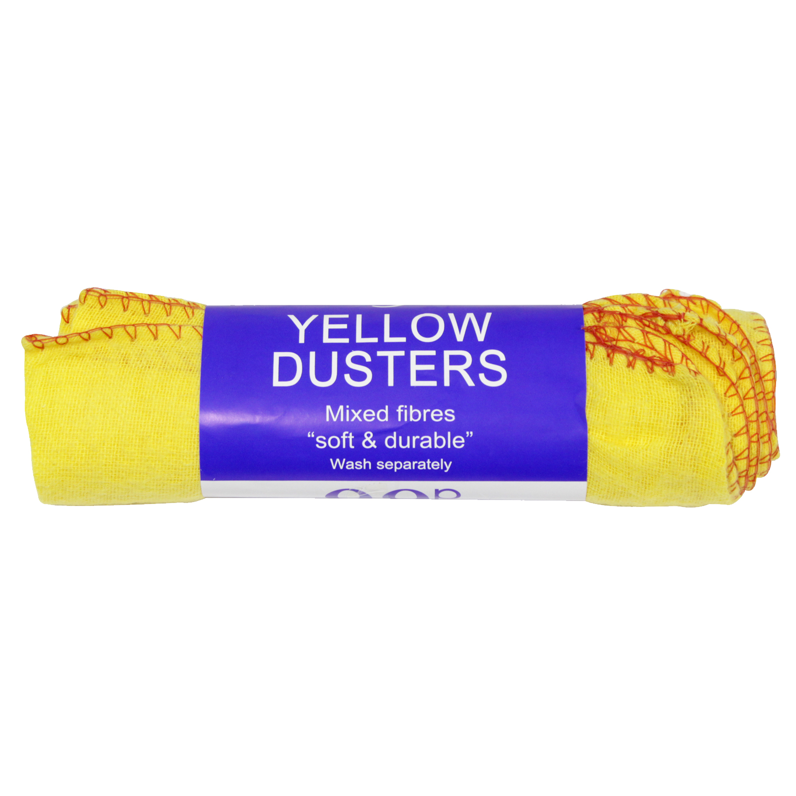 LIFESTYLE 99P YELLOW DUSTERS 5PK