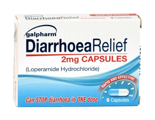 GALPHARM DIARRHOEA RELIEF 6X2MG X6 (NON RETURNABLE)