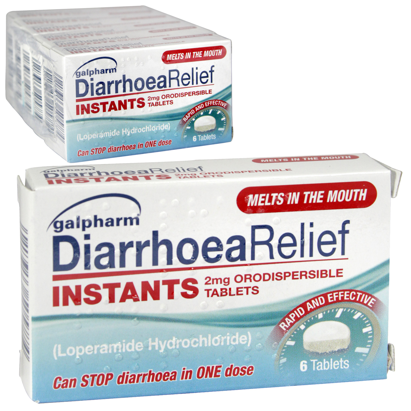 GALPHARM DIARRHOEA RELIEF 6 INSTANTS X6 (NON RETURNABLE)