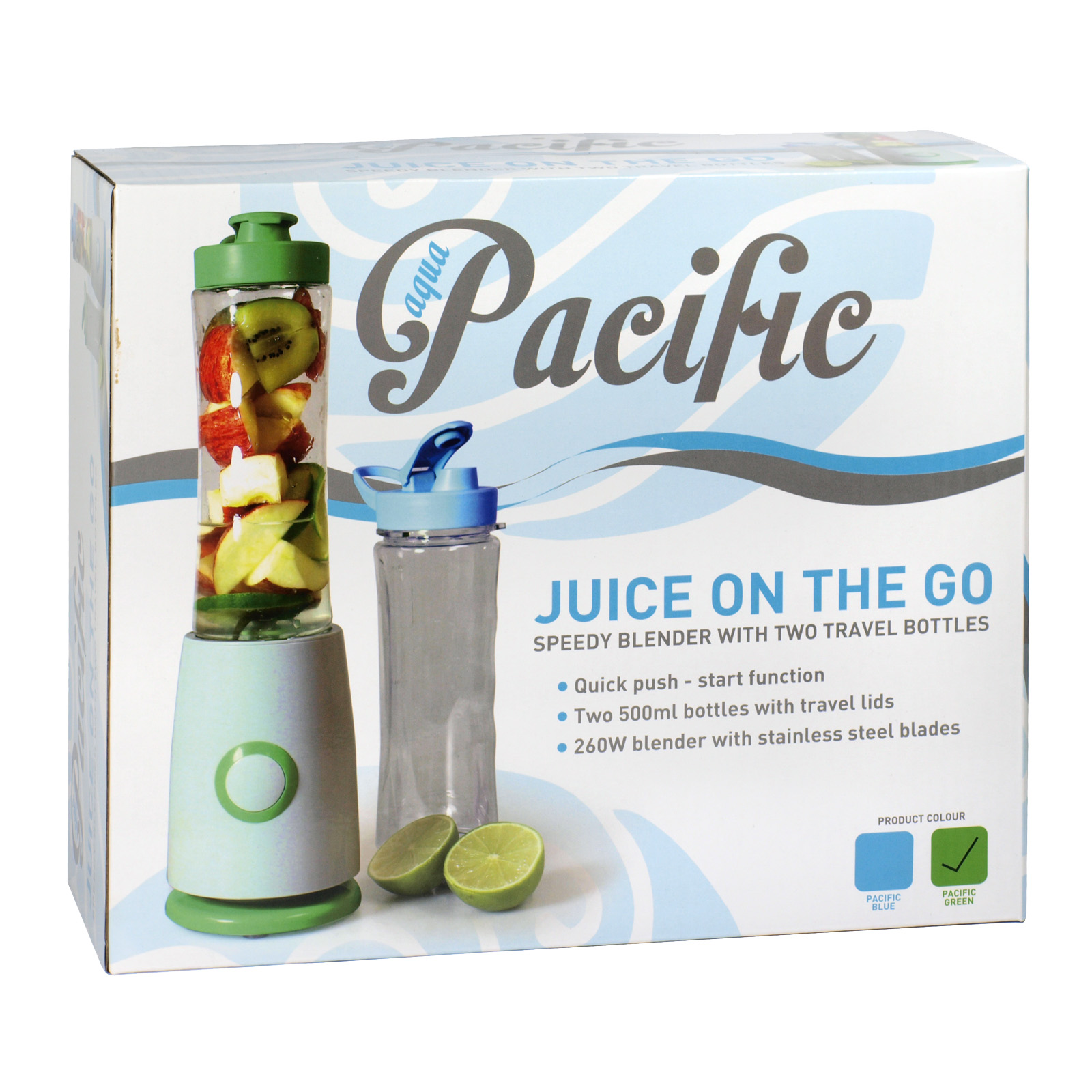 AQUA PACIFIC JUICE ON THE GO SPEEDY BLENDER