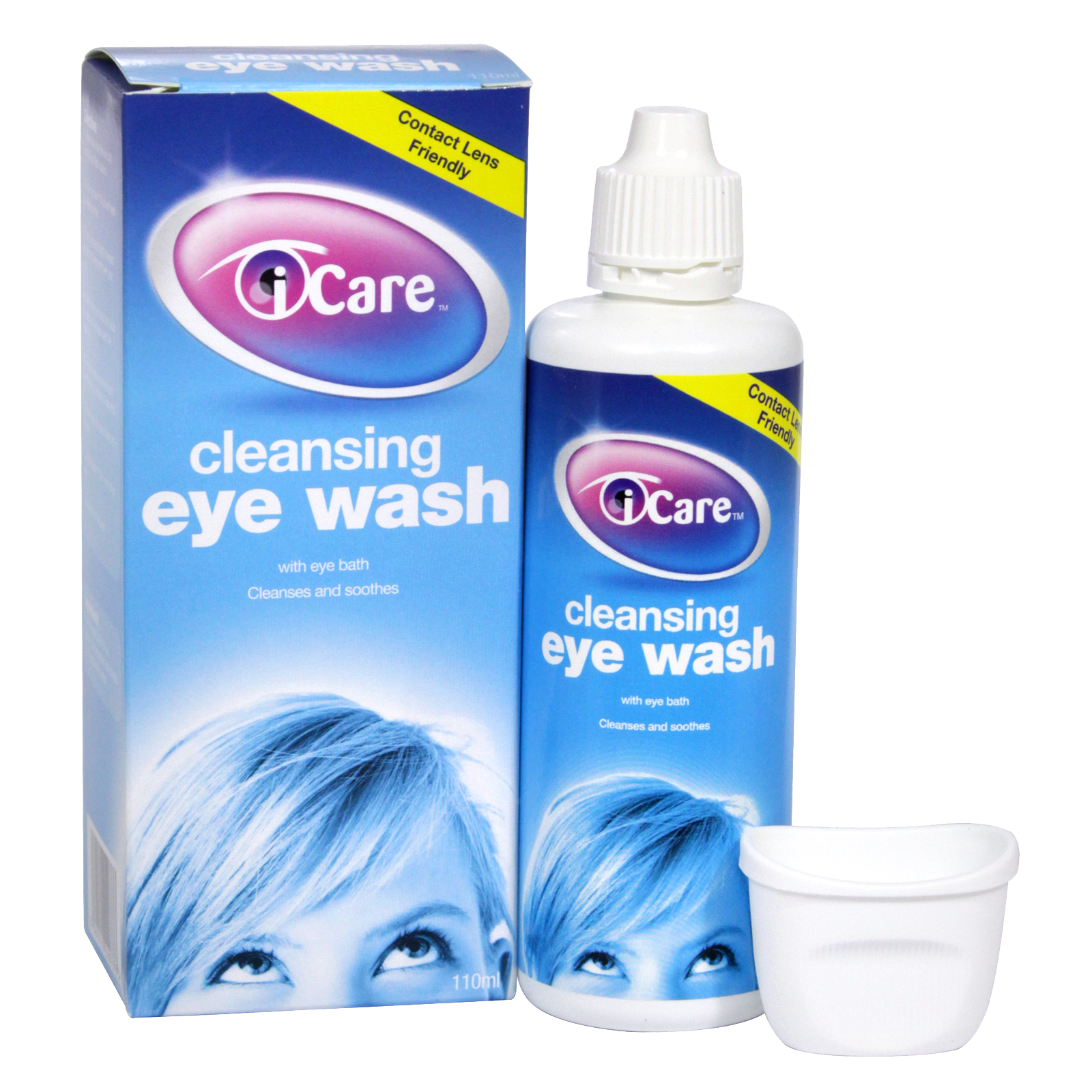 I-CARE CLEANSING EYE WASH 110ML (NON RETURNABLE)