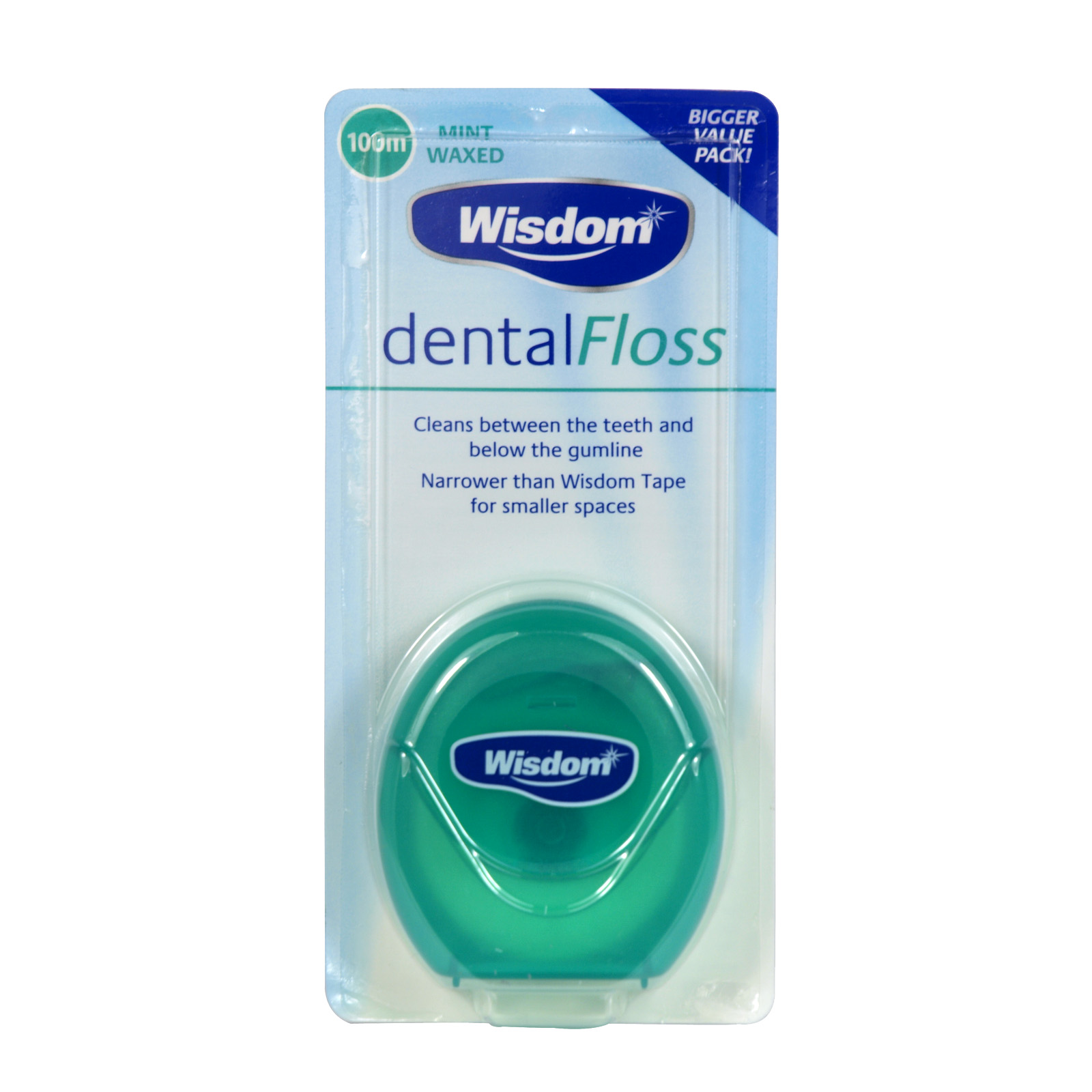 WISDOM DENTAL FLOSS 100M X6