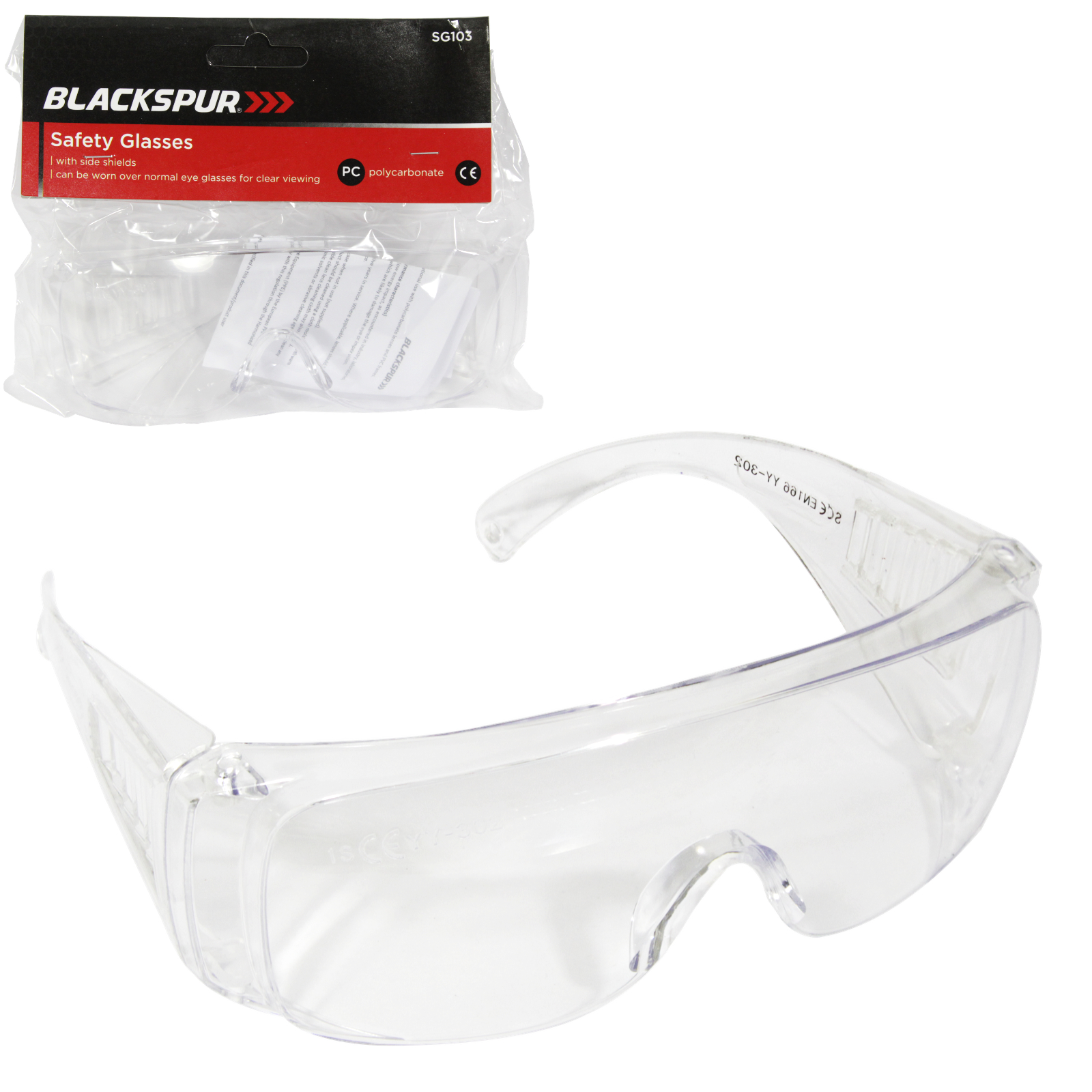 BLACKSPUR SAFTEY GLASSES