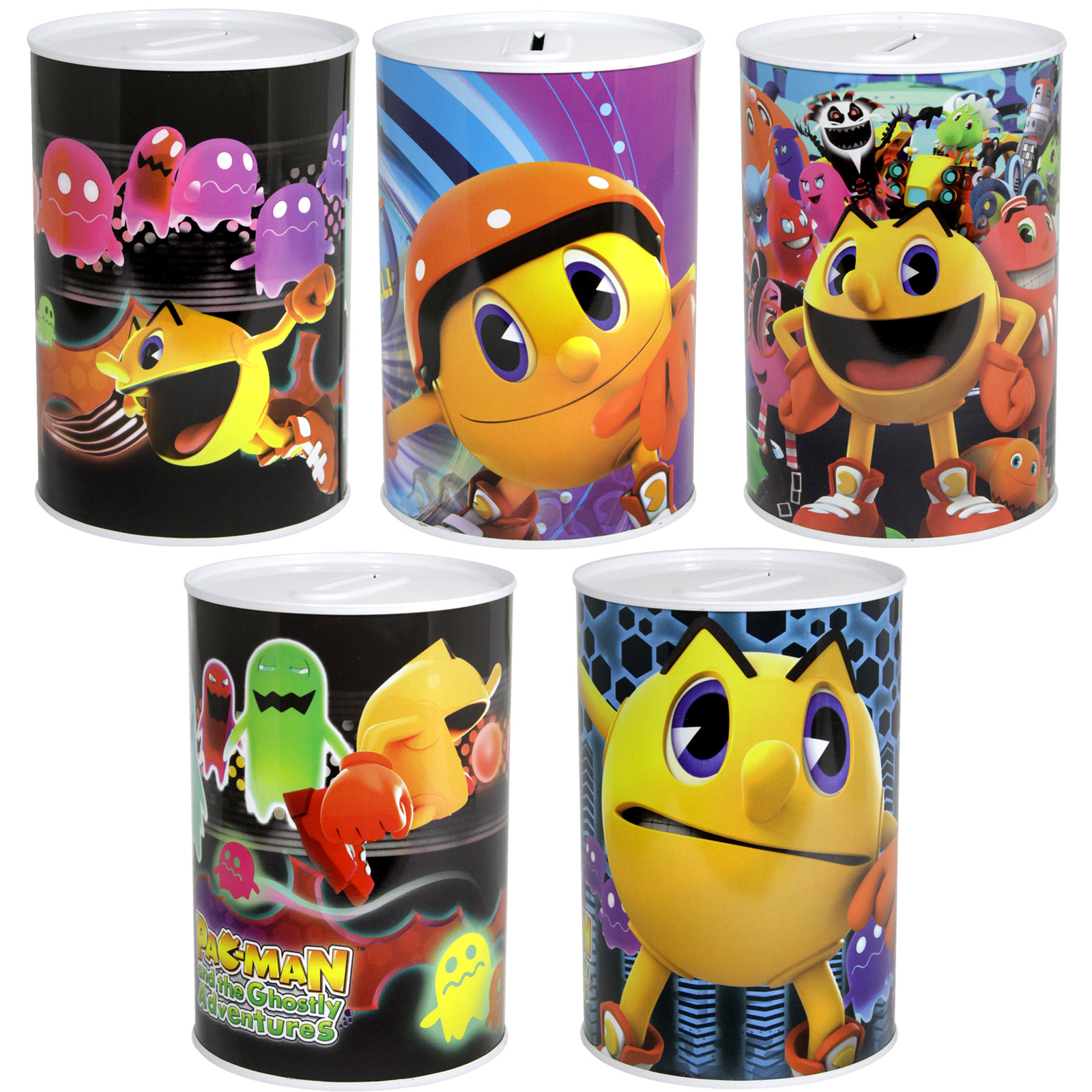 MONEY TIN 100X150MM PAC-MAN