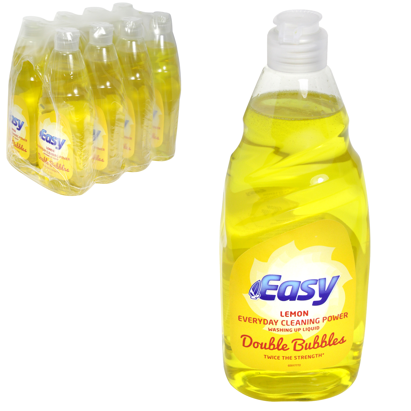 EASY WASH UP 500ML LEMON X8