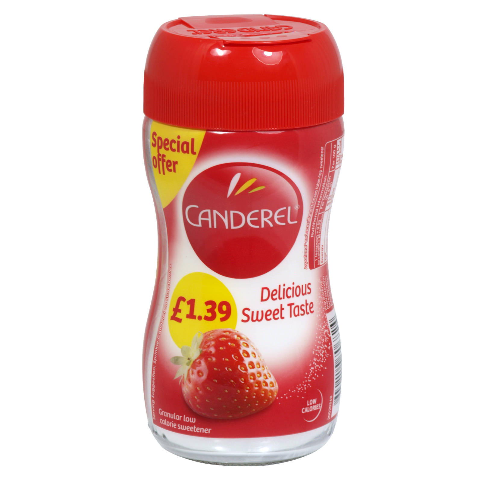 CANDEREL GRANULES 40GM PM £1.39 X6