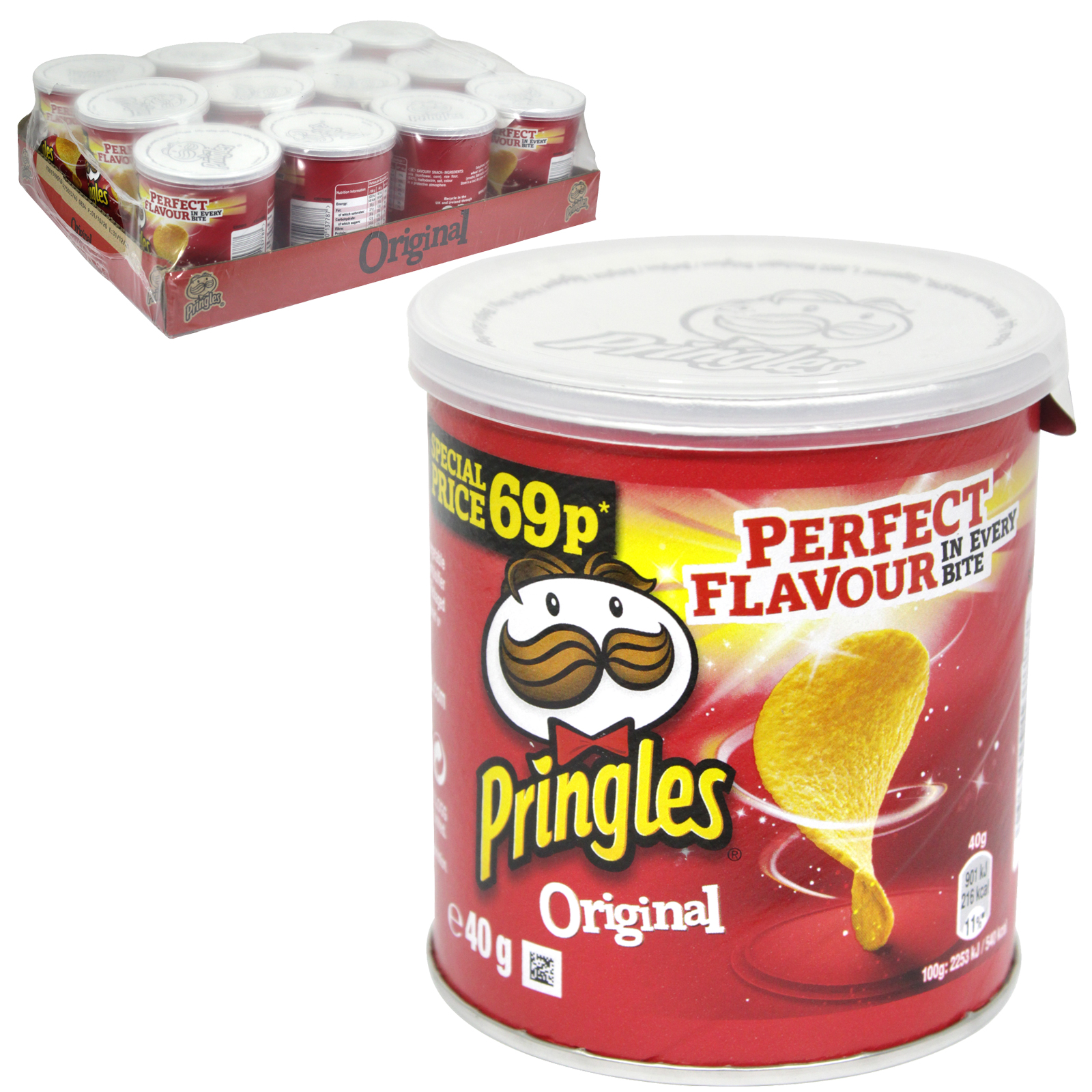 PRINGLES 40GM  ORIGINAL PM 69P X12