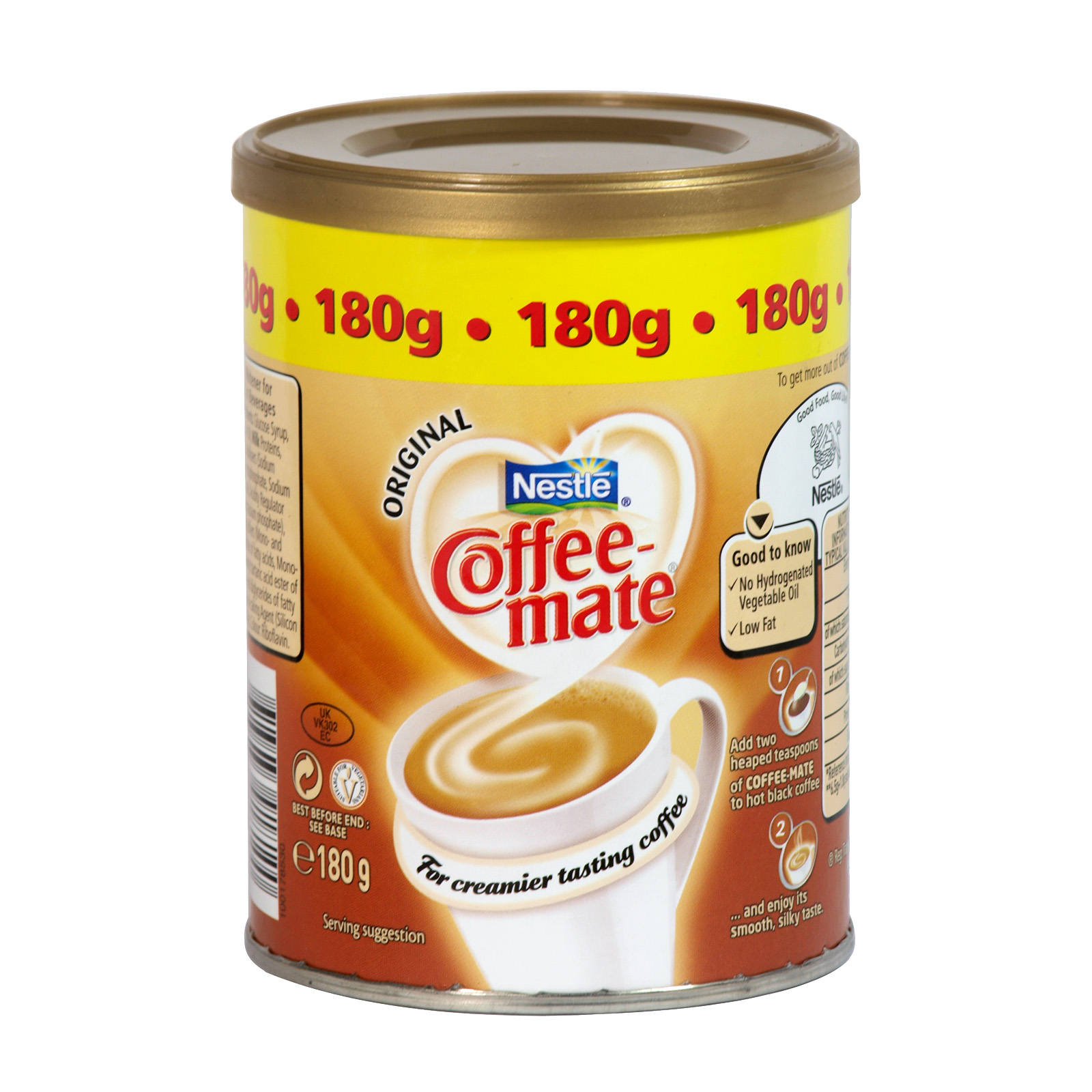 NESTLE COFFEE-MATE 180GM ORIGINAL X10