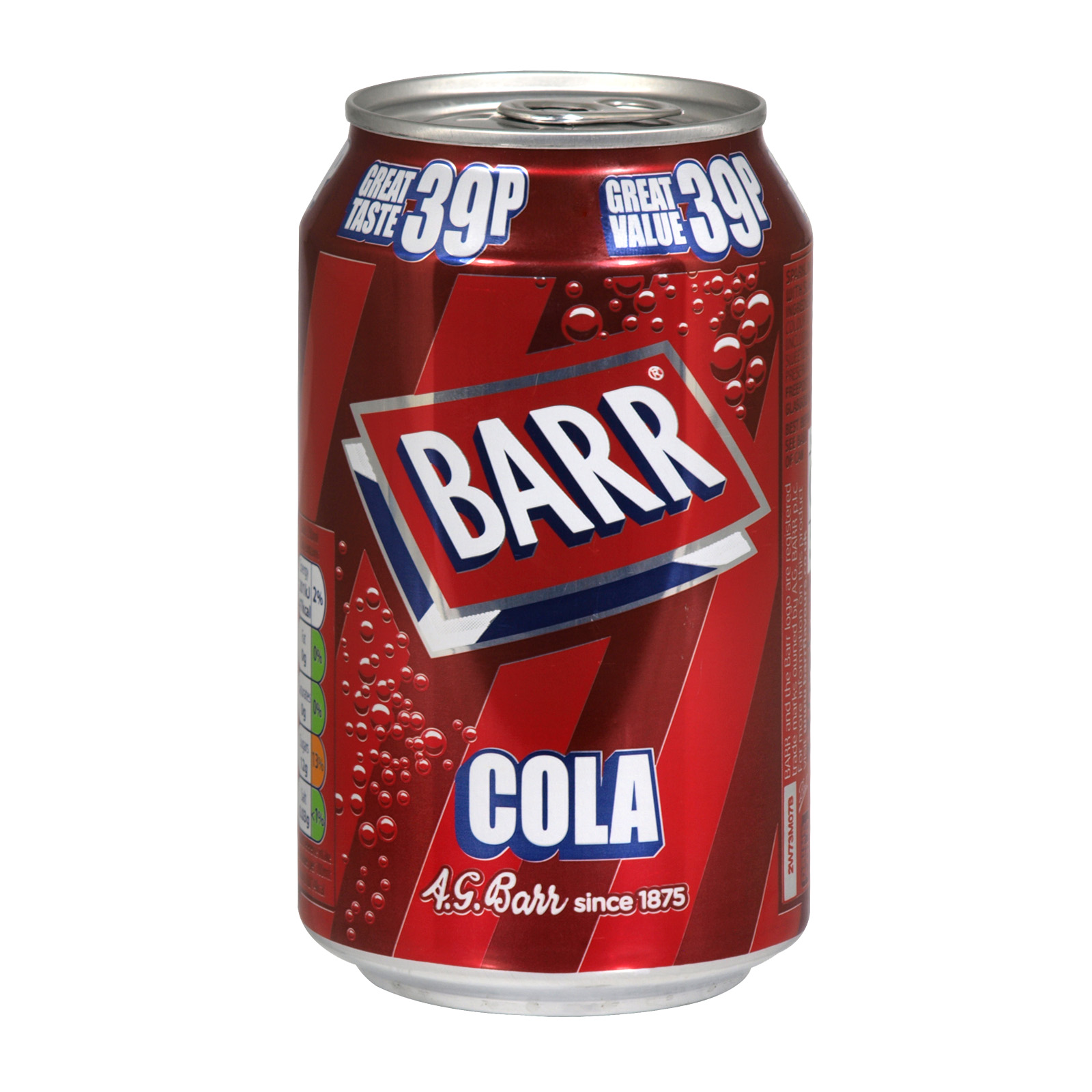 BARR 330ML CANS COLA PM 45P X24