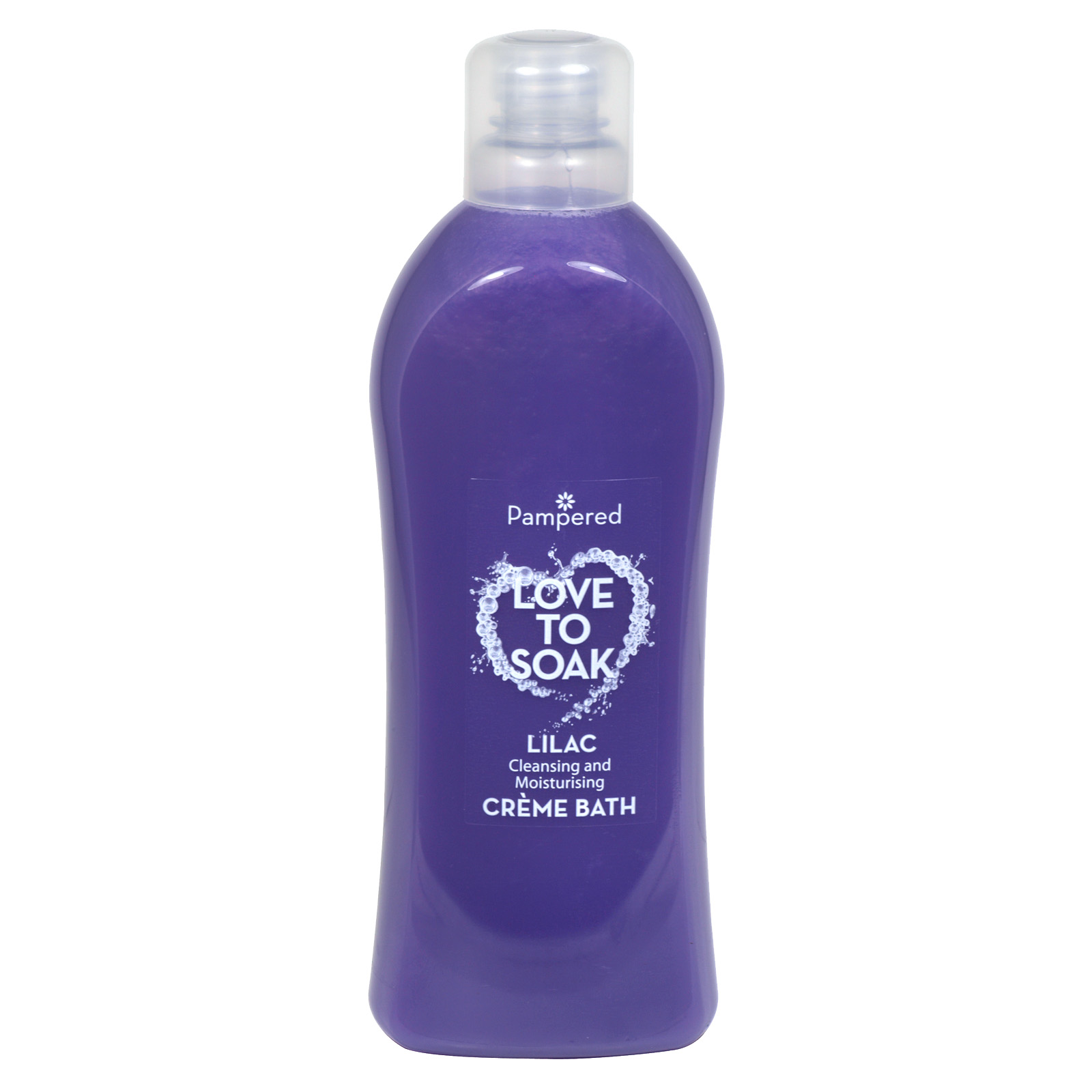 PAMPERED CREME BATH 1L LILAC X9