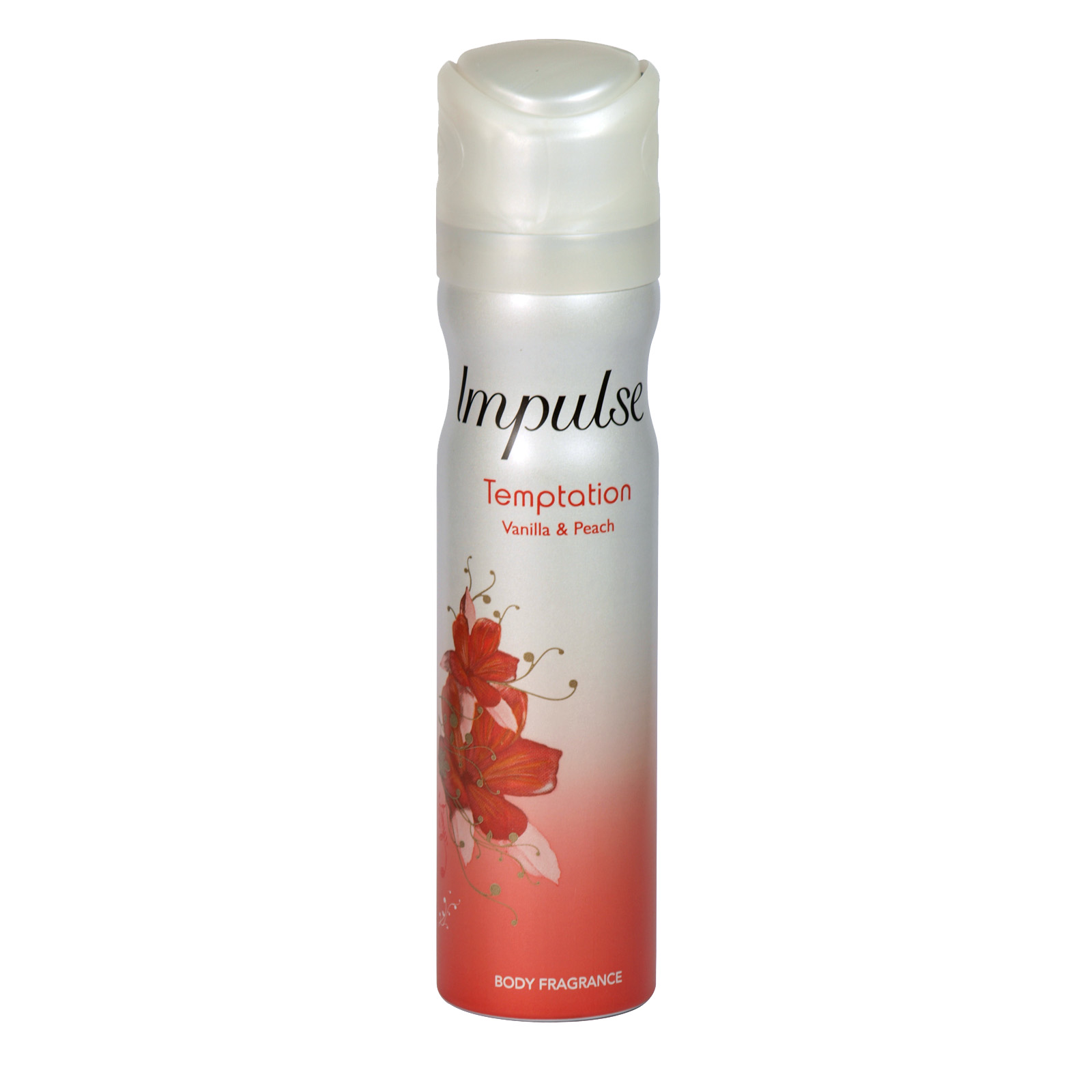 IMPULSE 75ML BODY SPRAY TEMPTATION X6