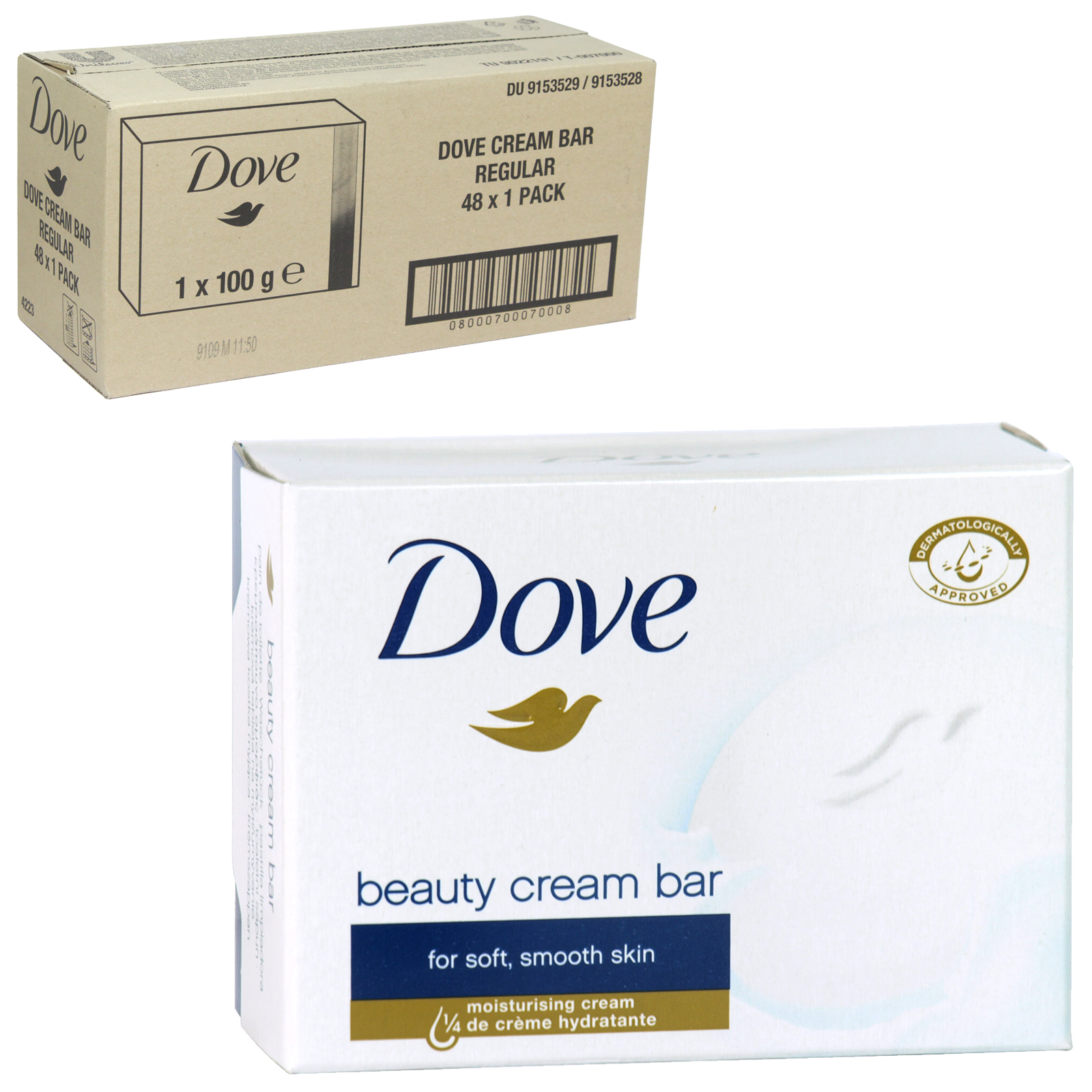 DOVE SOAP 100GM ORIGINAL X 48