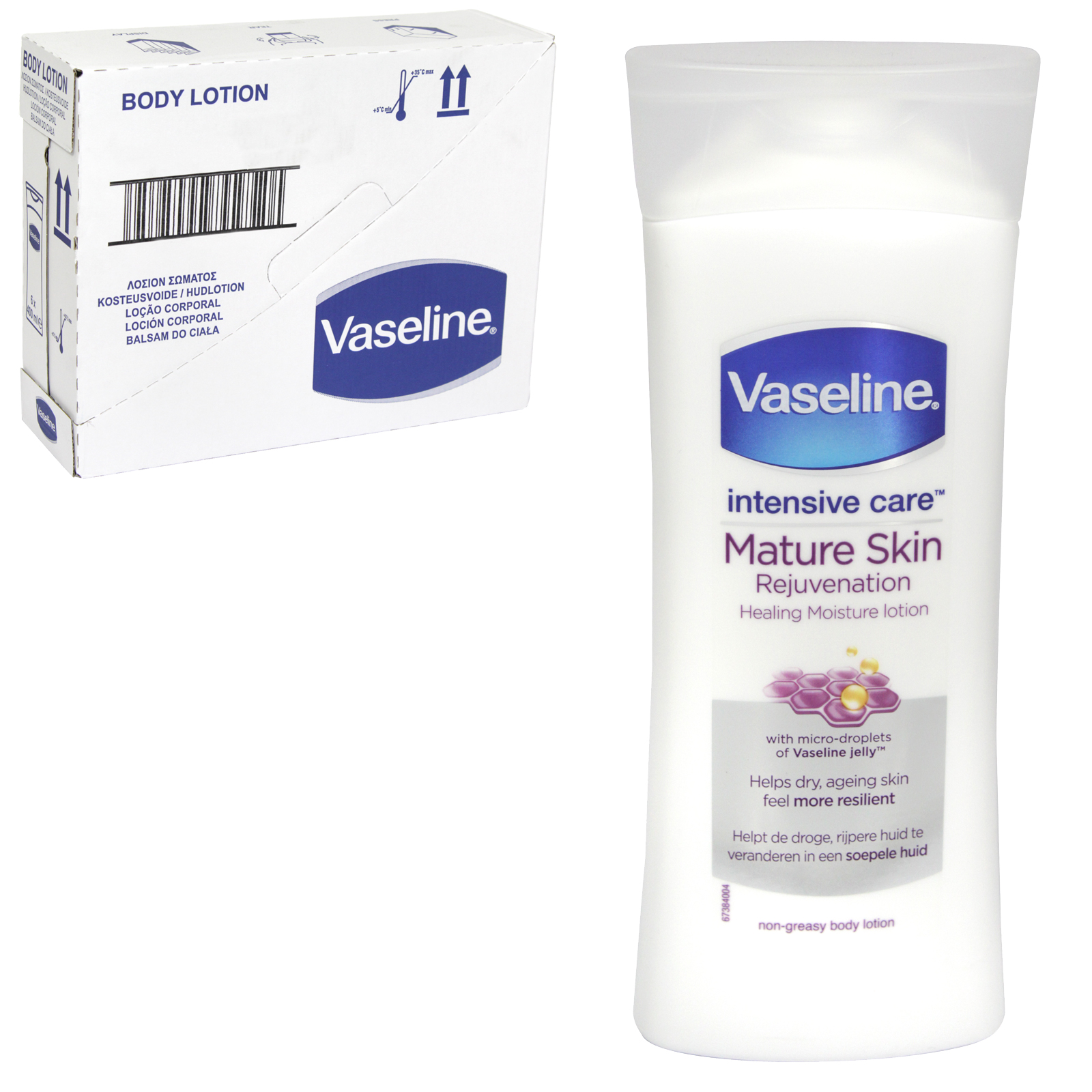 Vaseline Intensive Care Mature Skin Rejuvenation Healing Moisture Lotion 400ml Concord Cash And Carry
