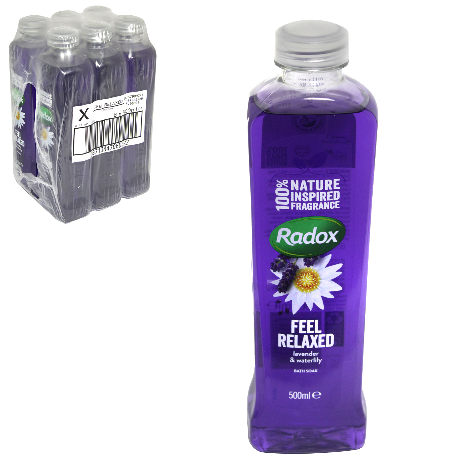 RADOX HERBAL BATH 500ML FEEL RELAXED X6
