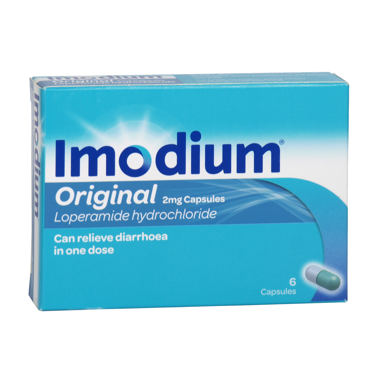 IMODIUM CAPSULES 6'S X6 (NON RETURNABLE)