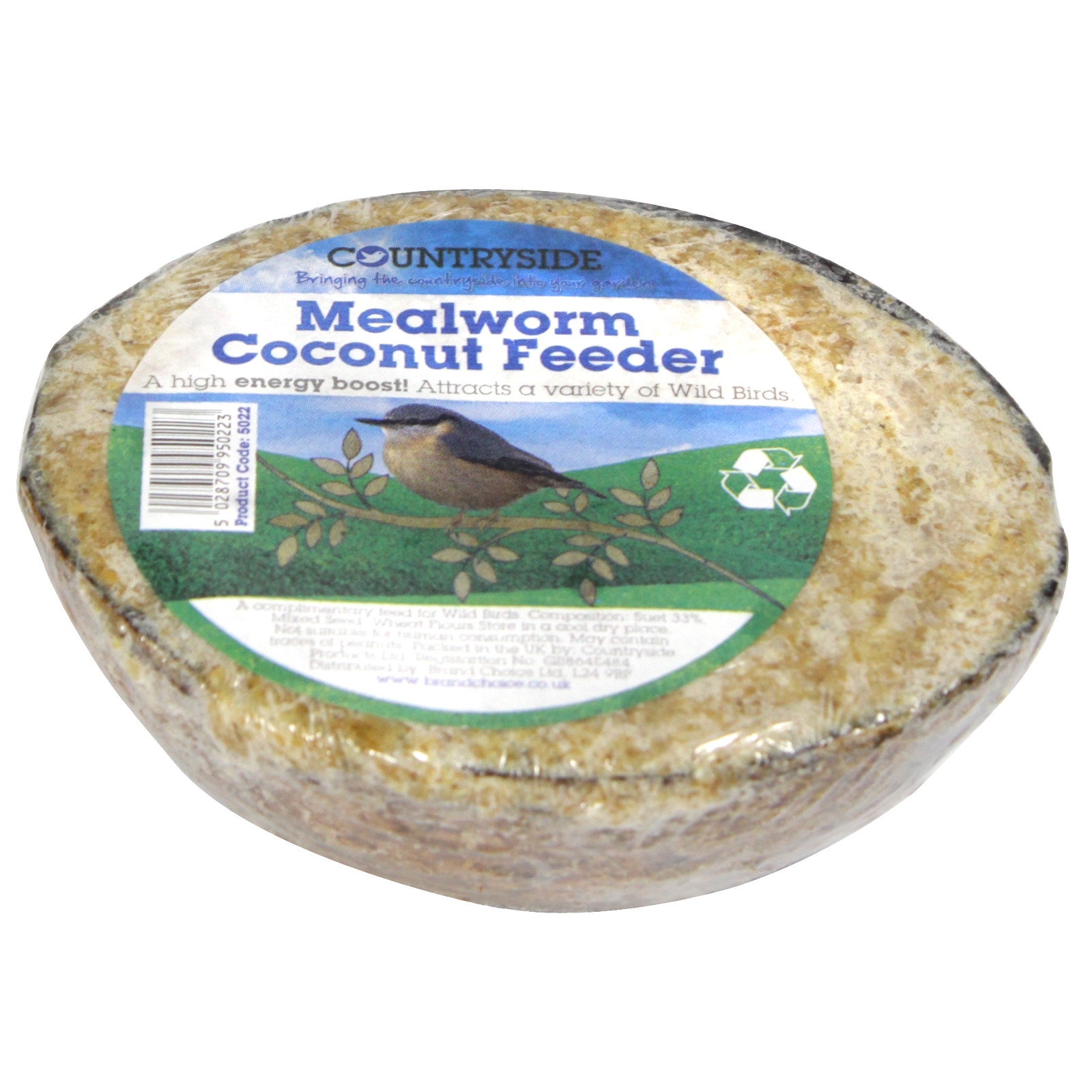 COUNTRYSIDE COCONUT FEEDER+M'WORMS