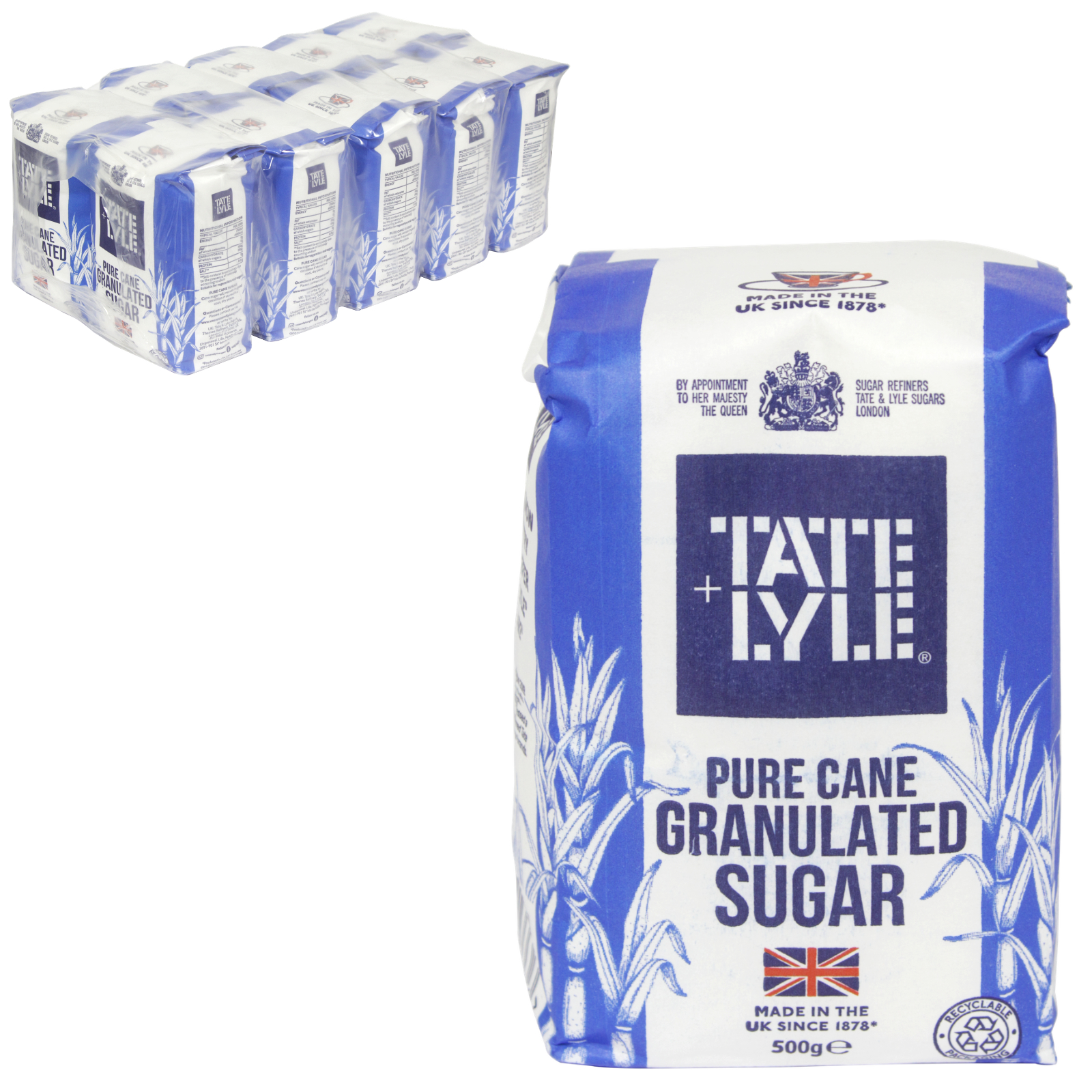 TATE+LYLE GRANULATED SUGAR 1KG X15