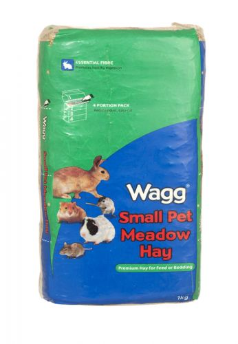 WAGG HAY FOR SMALL ANIMALS 1KG X5