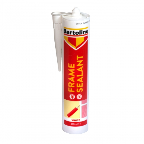 BARTOLINE FRAME SEALANT 310ML CARTRIDGE WHITE