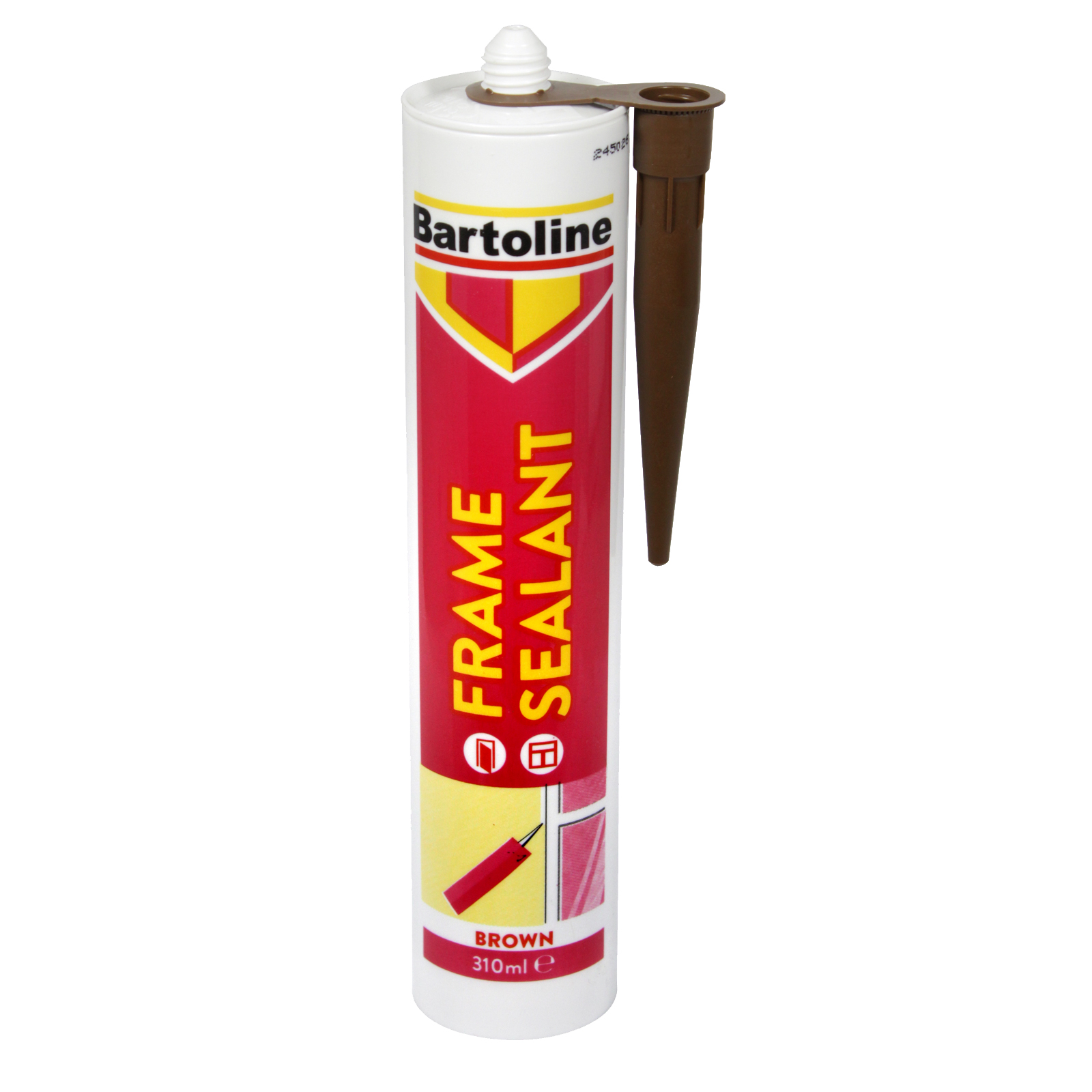 BARTOLINE FRAME SEALANT 310ML CARTRIDGE BROWN