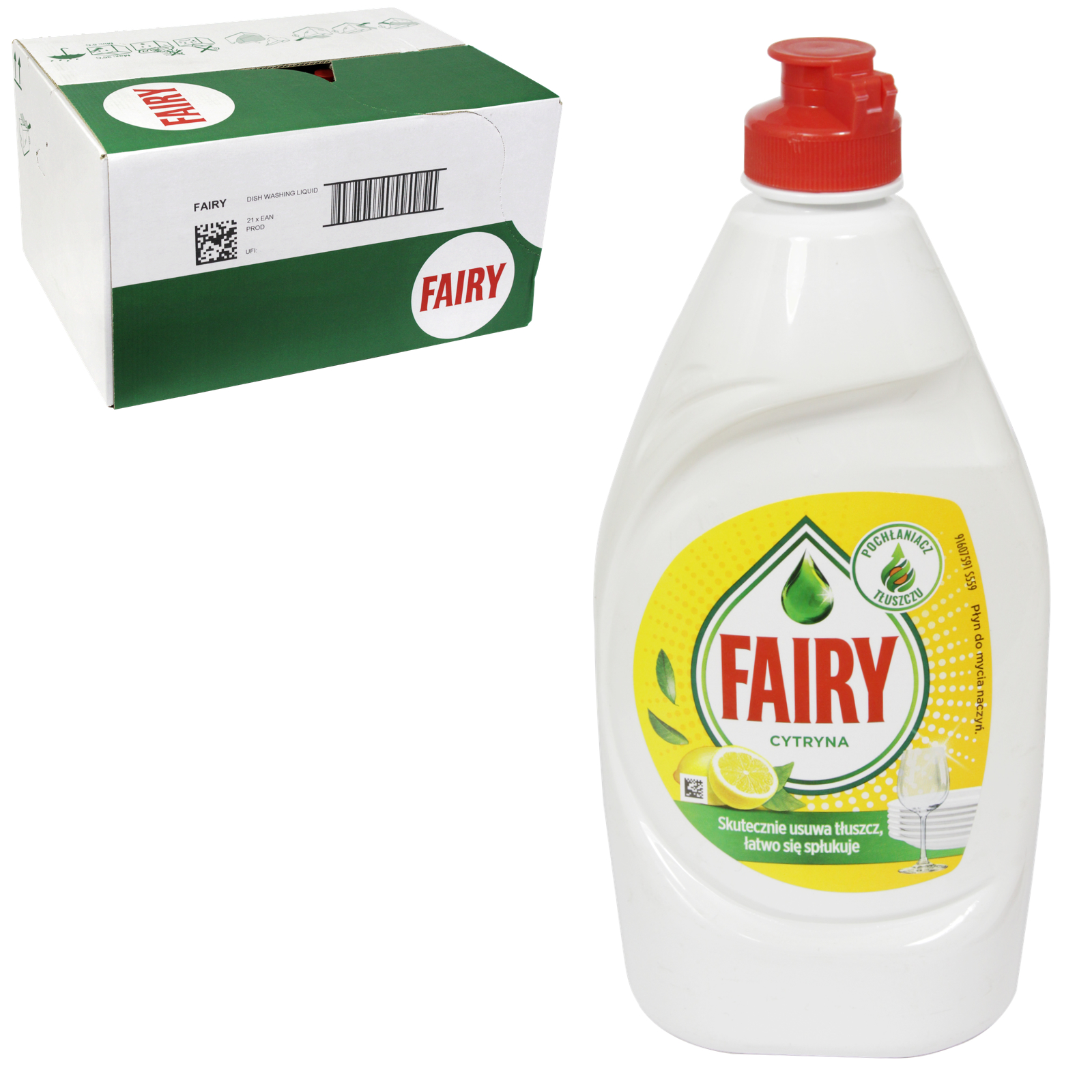 FAIRY WASH UP 450ML LEMON X21