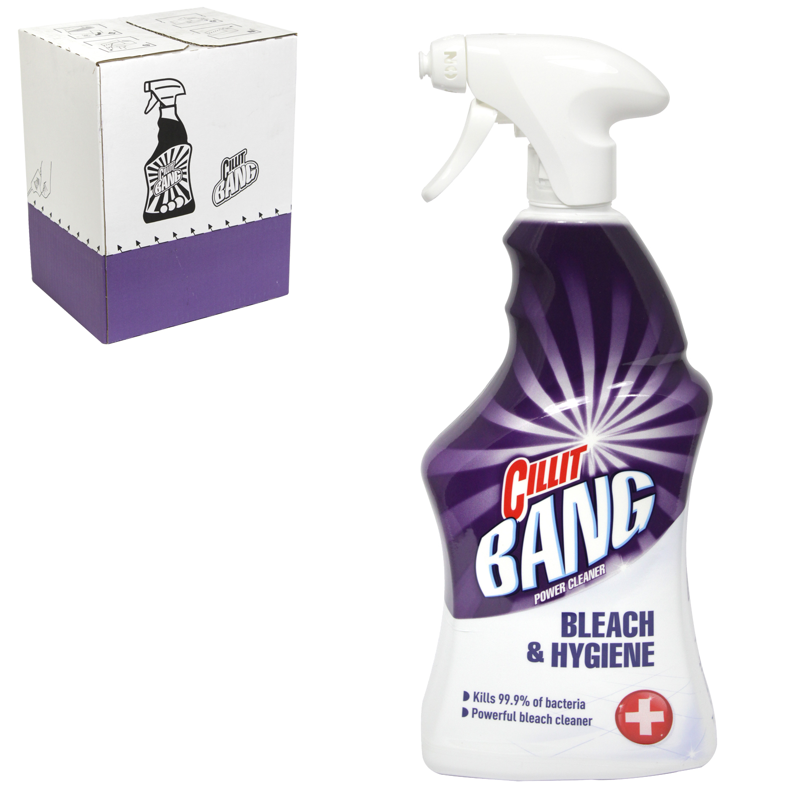 CILLIT BANG 750ML BLEACH+HYGIENE X6