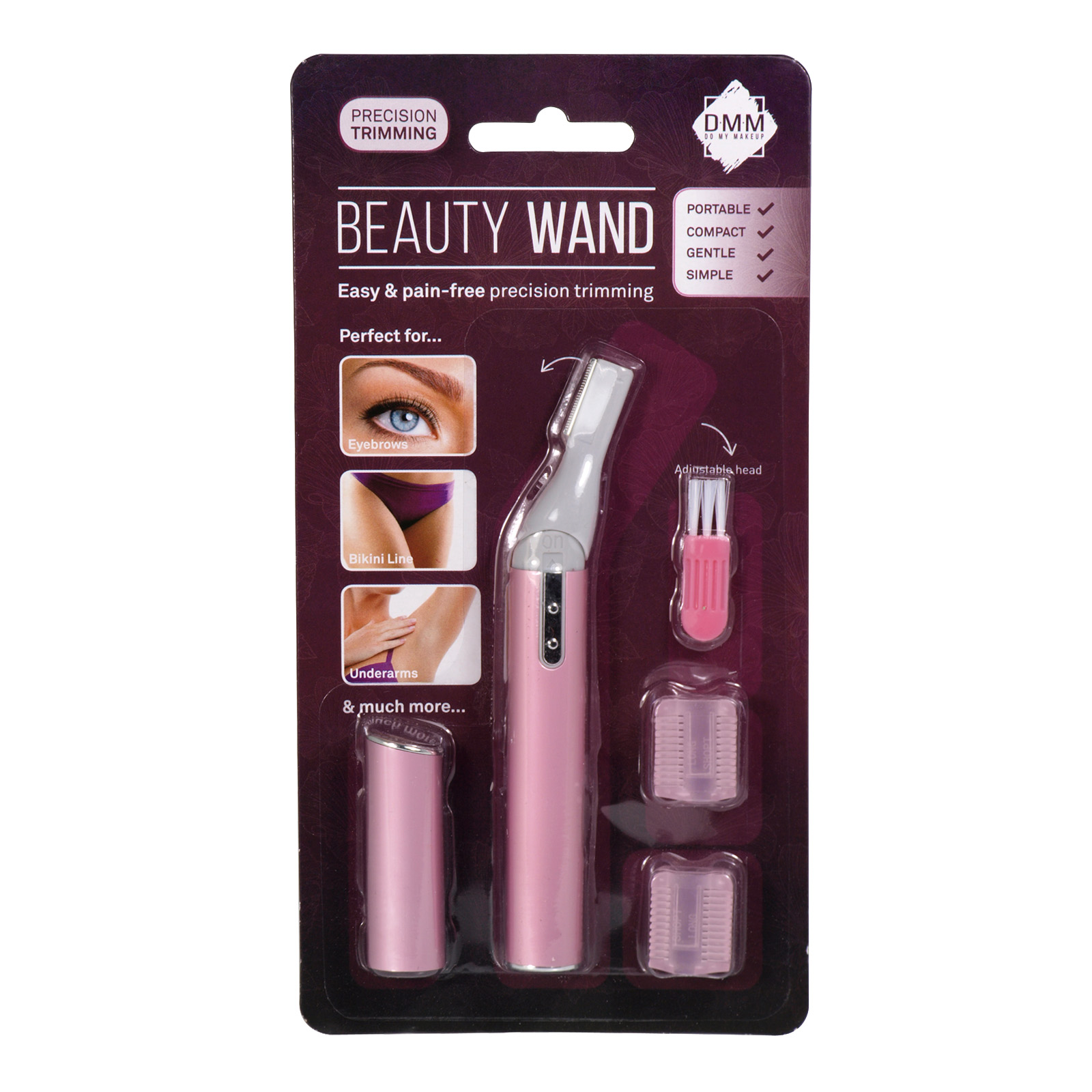DMM BEAUTY WAND HAIR REMOVER+LIGHT