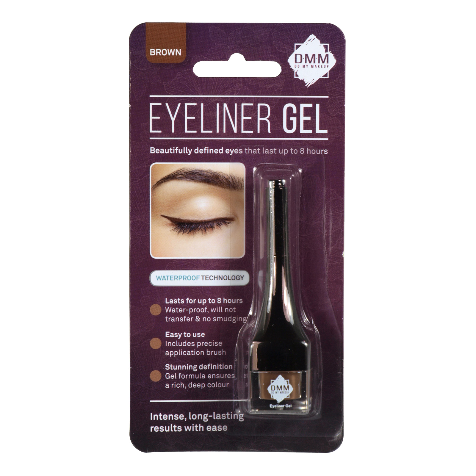 DMM EYELINER GEL BROWN