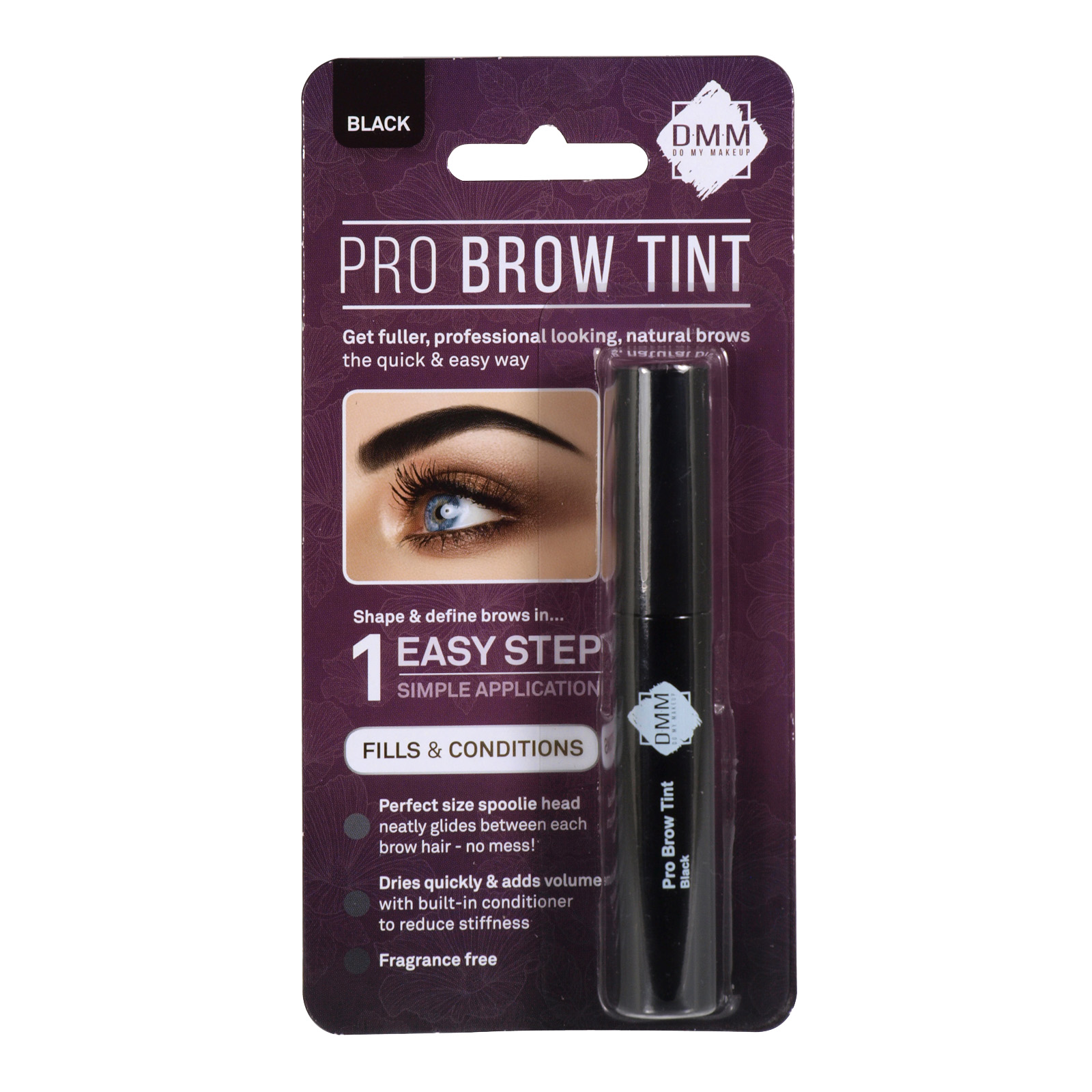 DMM PRO BROW TINT MIX BLACK
