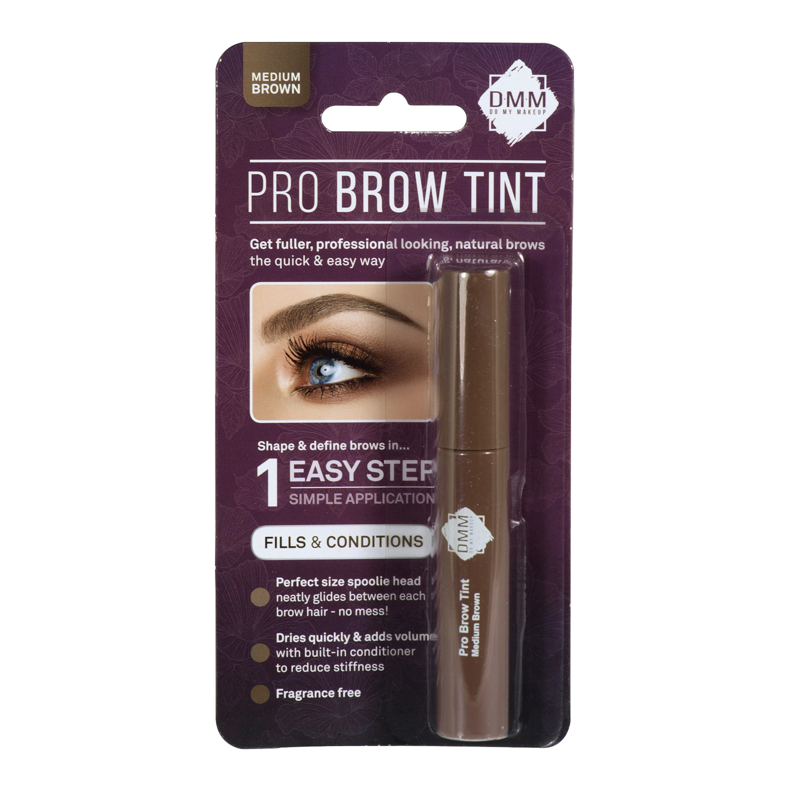 DMM PRO BROW TINT MIX MEDIUM BROWN