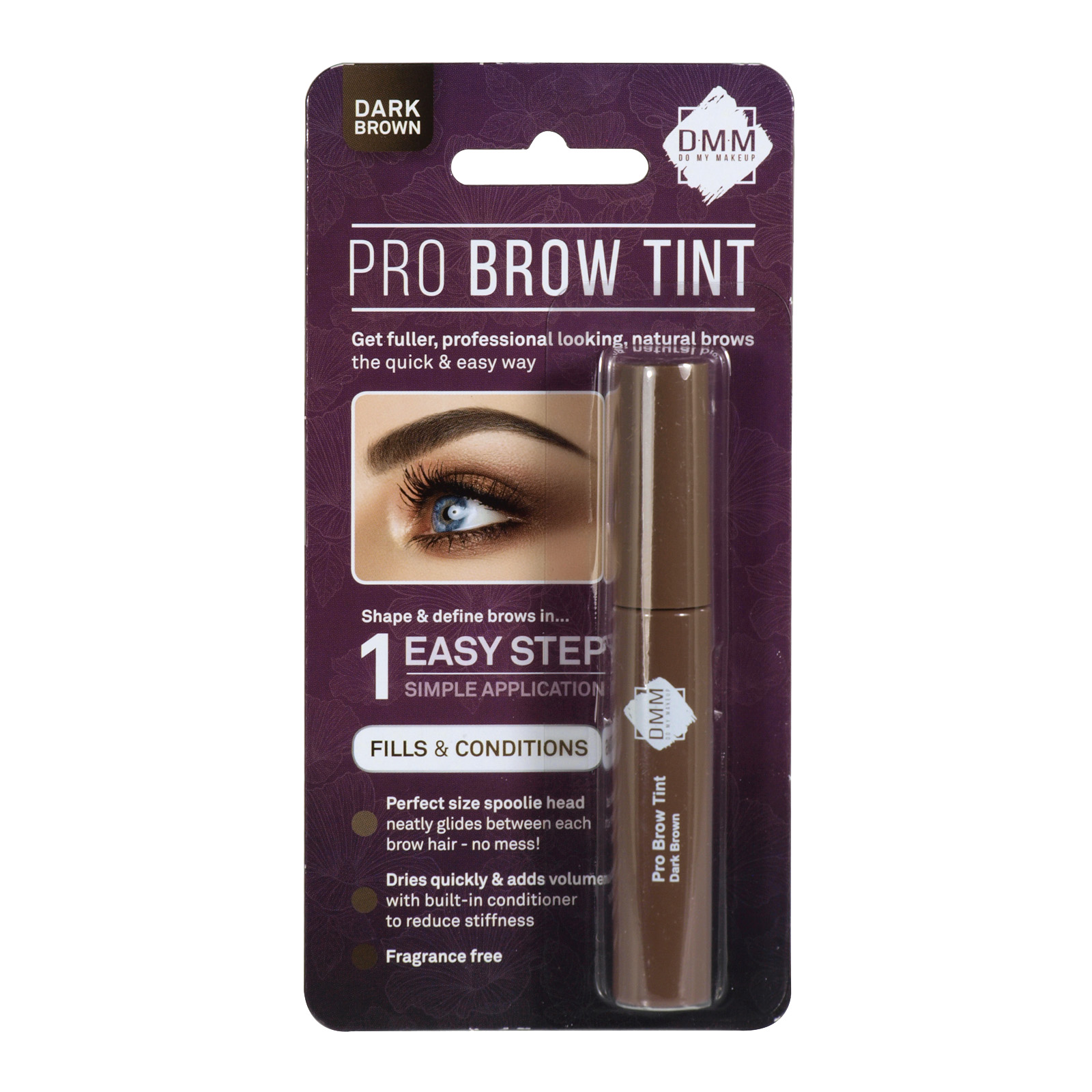 DMM PRO BROW TINT MIX DARK BROWN