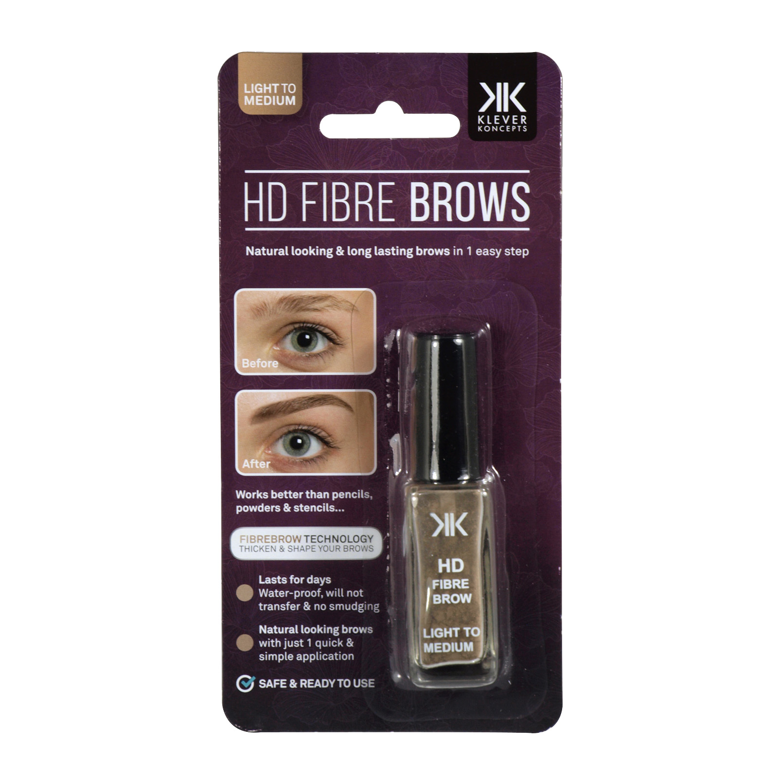 DMM HD FIBRE BROWS LIGHT TO MEDIUM