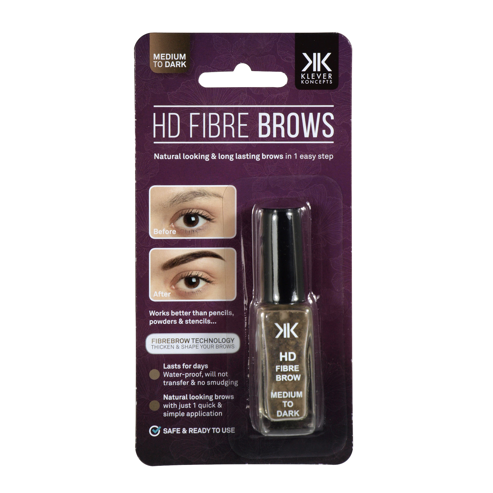 DMM HD FIBRE BROWS MEDIUM TO DARK
