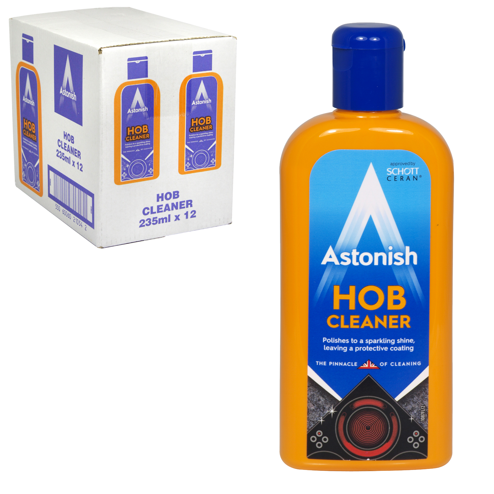 ASTONISH 235ML HOB CLEANER X12