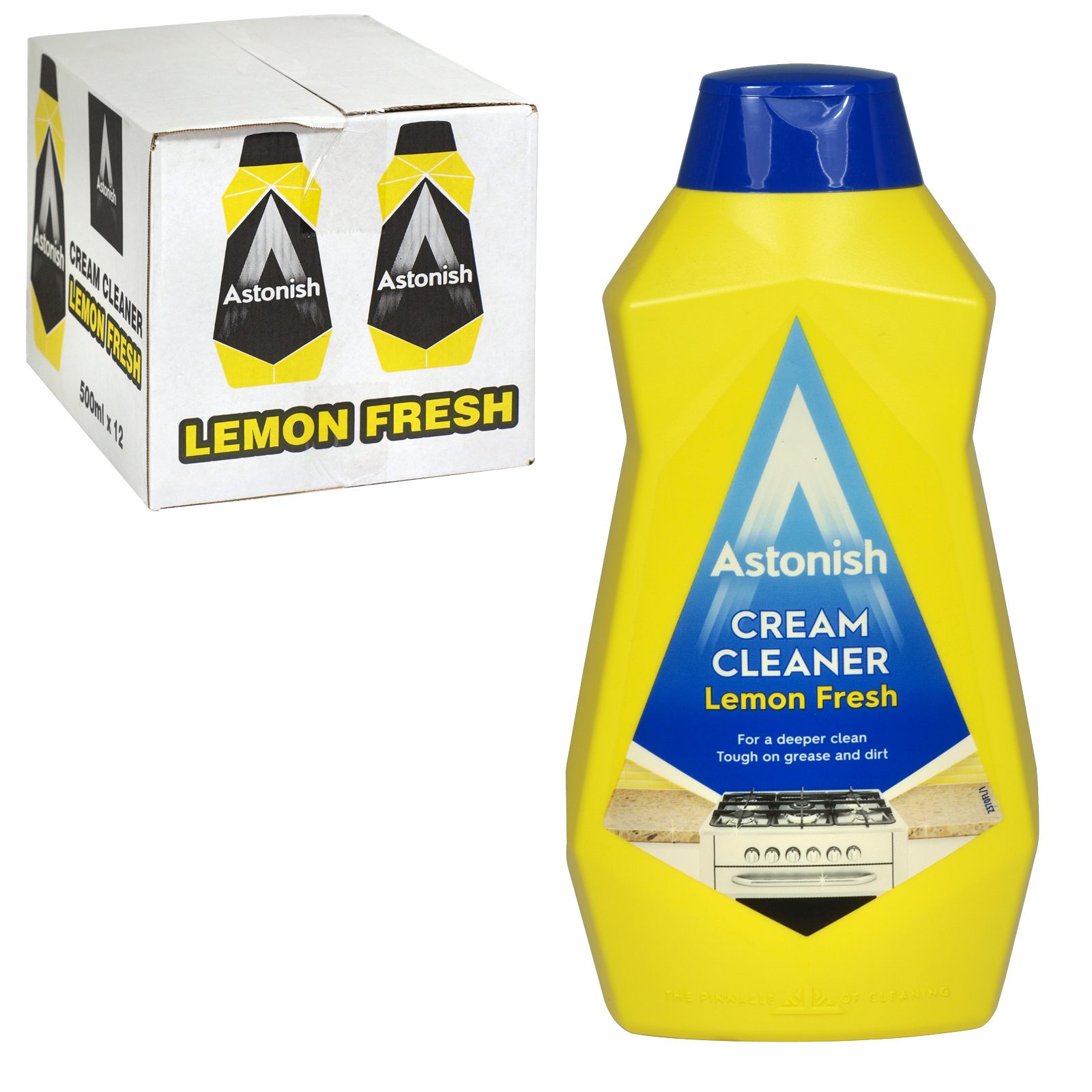 ASTONISH 500ML CREAM CLEANER LEMON FRESH X6