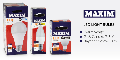 Status Maxim LED bulbs
